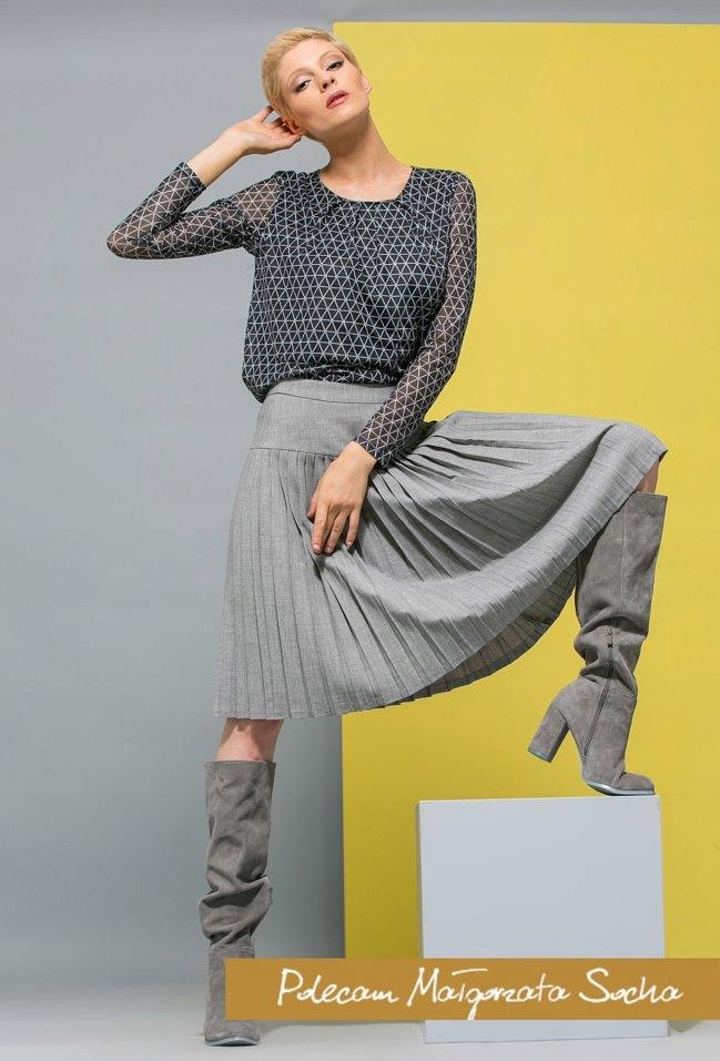 be17ec95 MONNARI piękna spódnica plisy nowość solar simple - 7643631084 ...