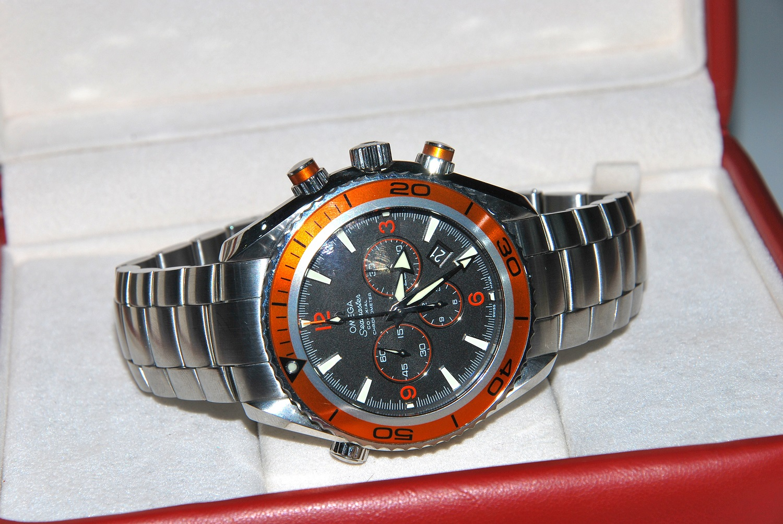 Omega Seamaster Planet Ocean Chronograph DOK/BOX