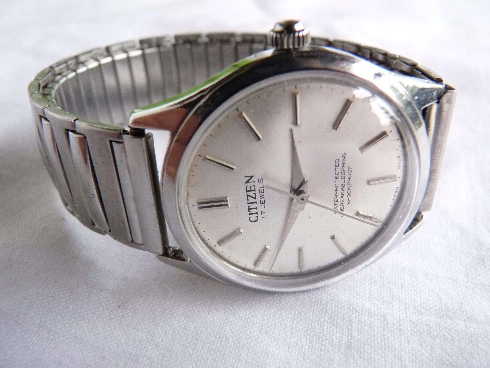 51e11d07330ad8 Japoński zegarek CITIZEN 17 jewels koperta w stali - 7633058855 - oficjalne  archiwum allegro