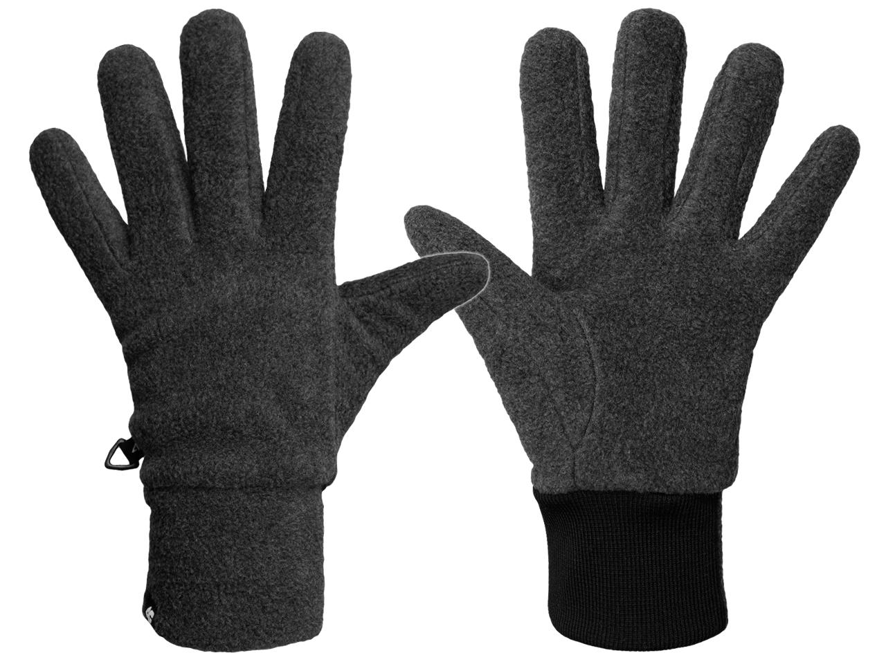 4F Rękawiczki ZIMOWE Polarowe REU002 na Zimę M
