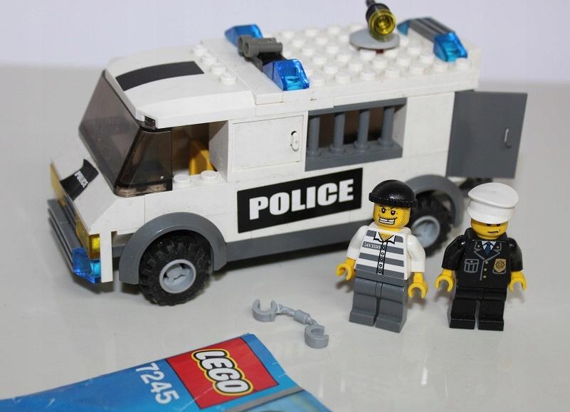 Lego City 7245 Policja Konwój Policyjny Okazja 7460392772