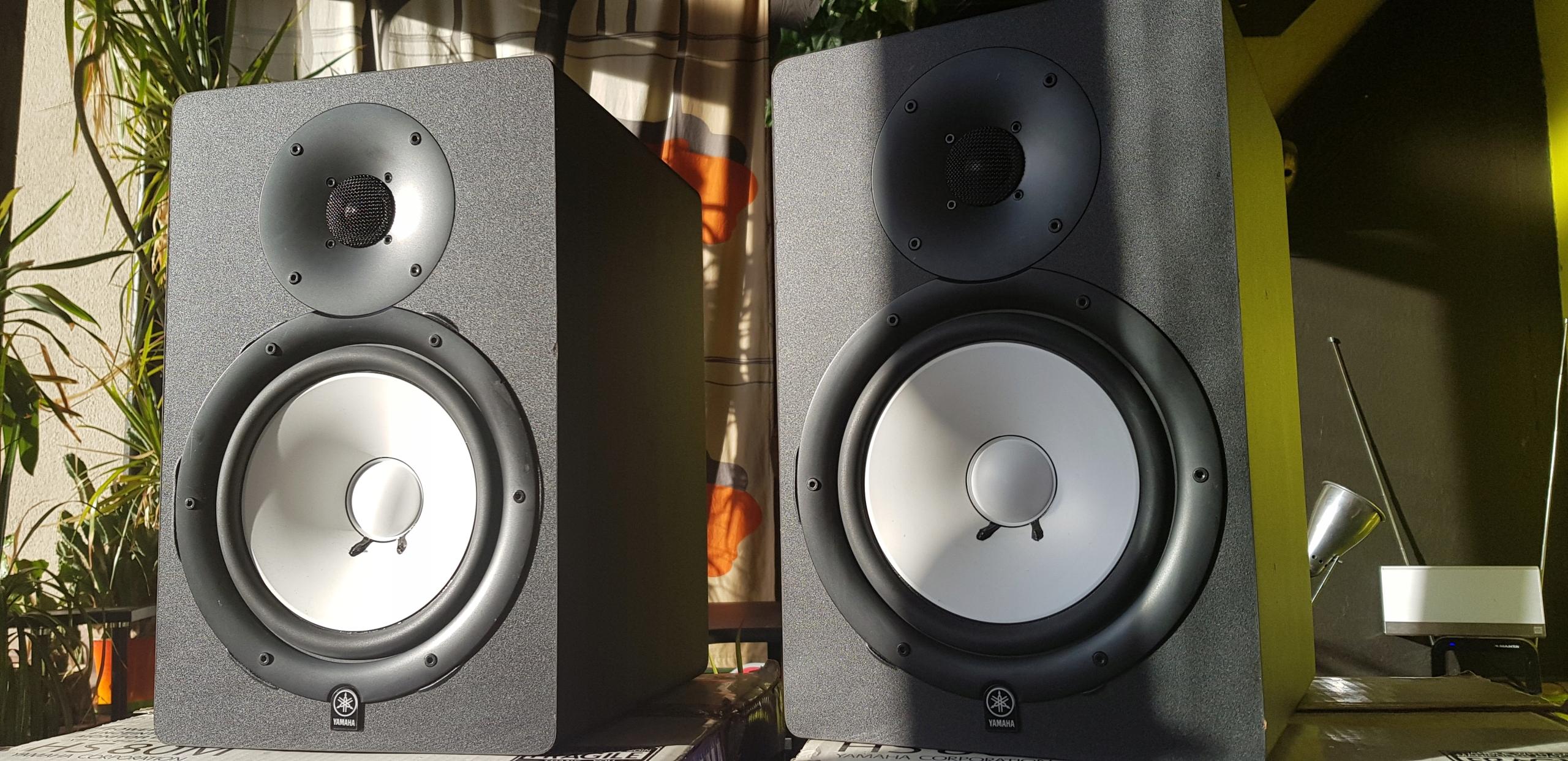 YAMAHA HS 80M 2szt. Monitor Speaker Głośnik Bi AMP