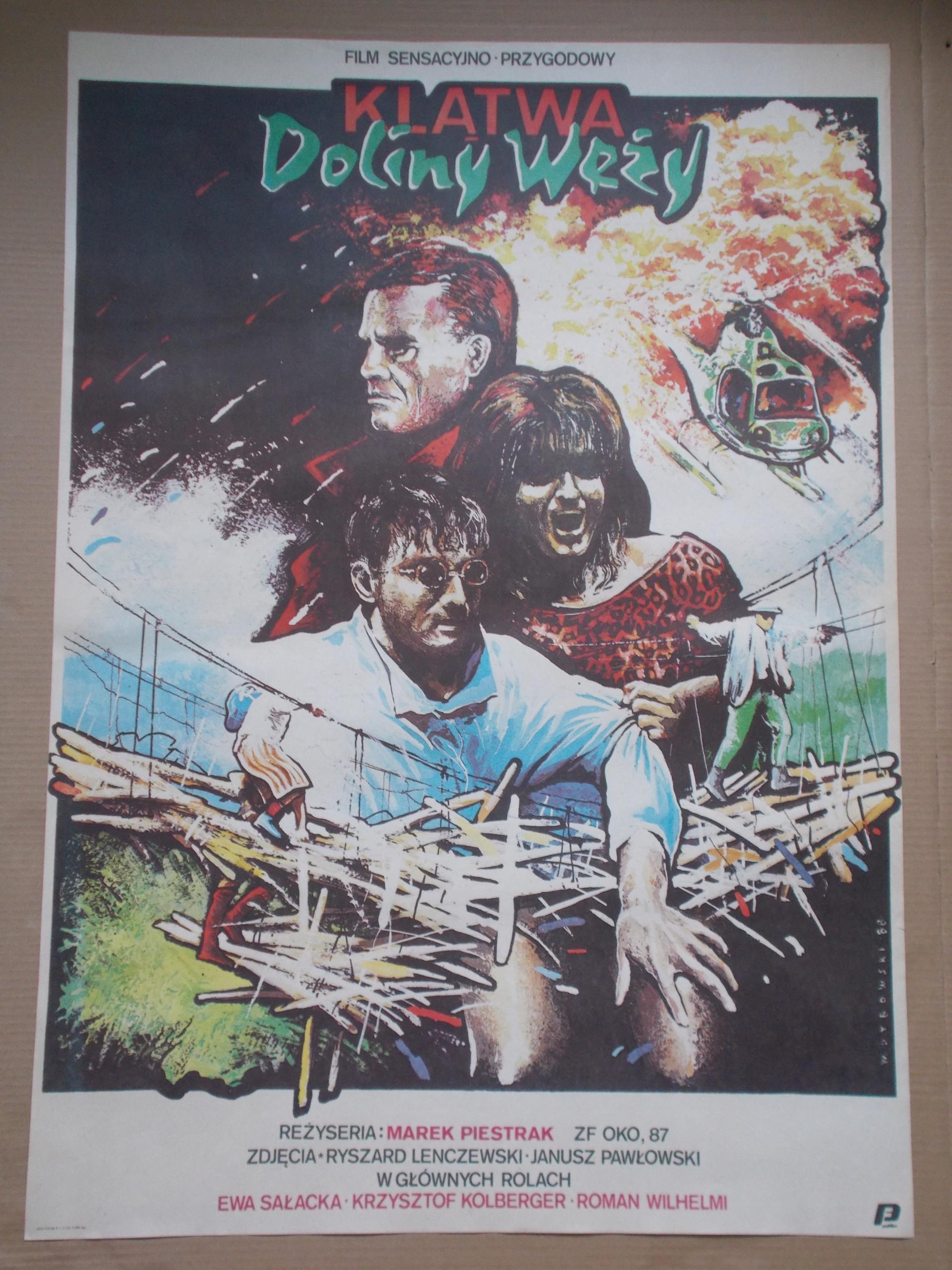 Plakat Filmowy Klątwa Doliny Węży