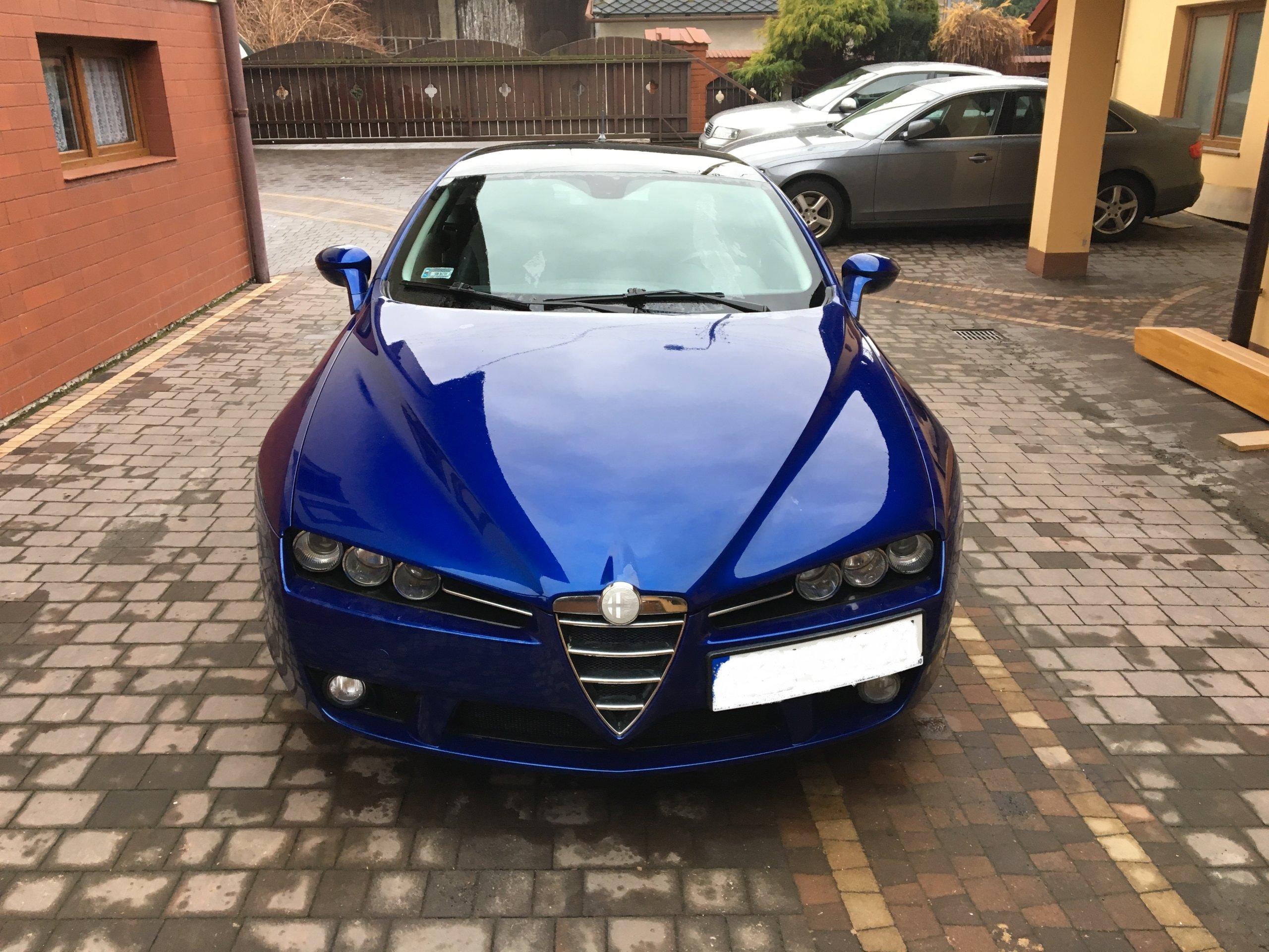 Alfa Romeo Brera Sky View 2 2 JTS 185 KM oficjalne