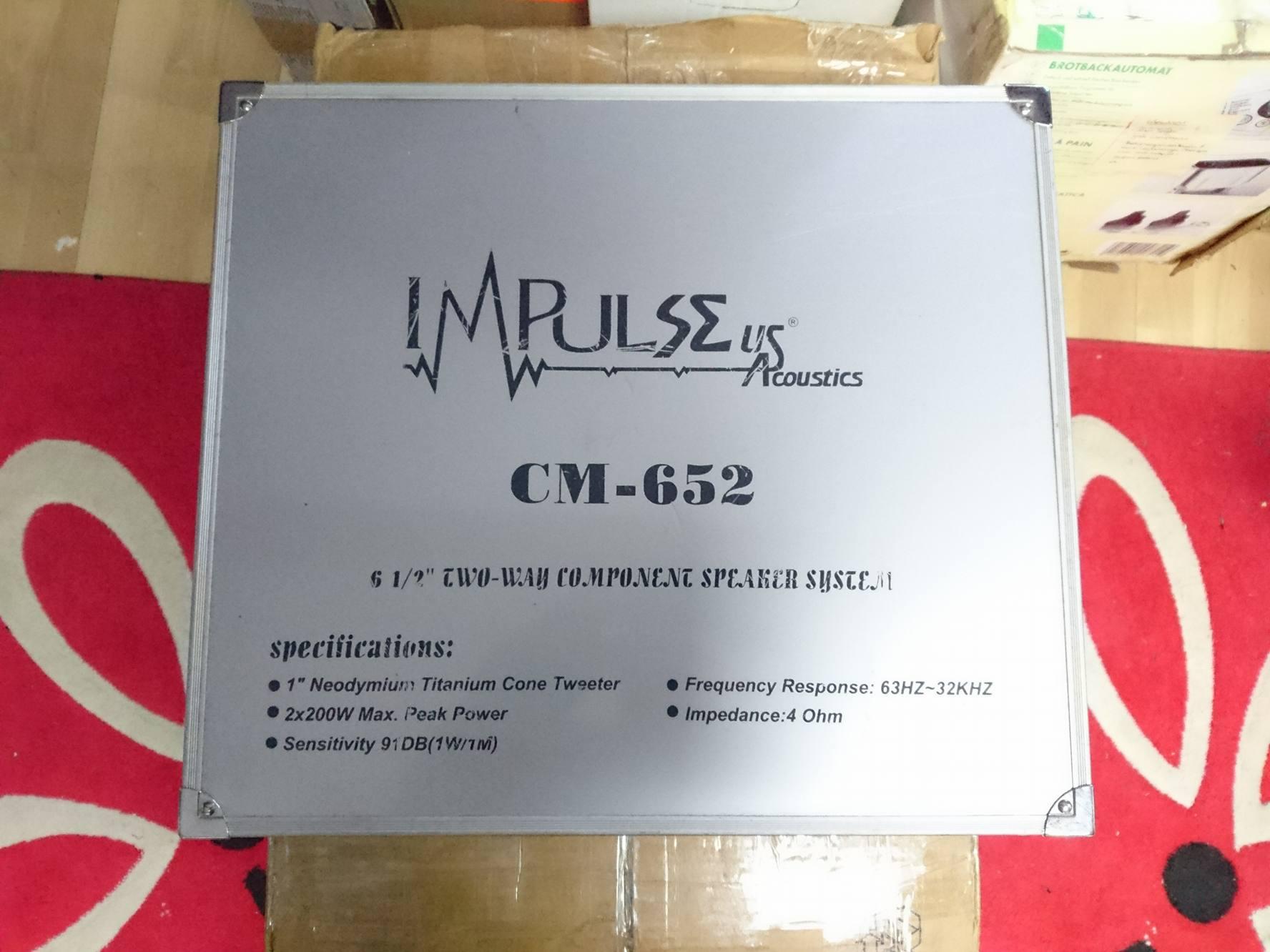 Głosniki Impulse CM-652 2x100w 165mm 16,5cm