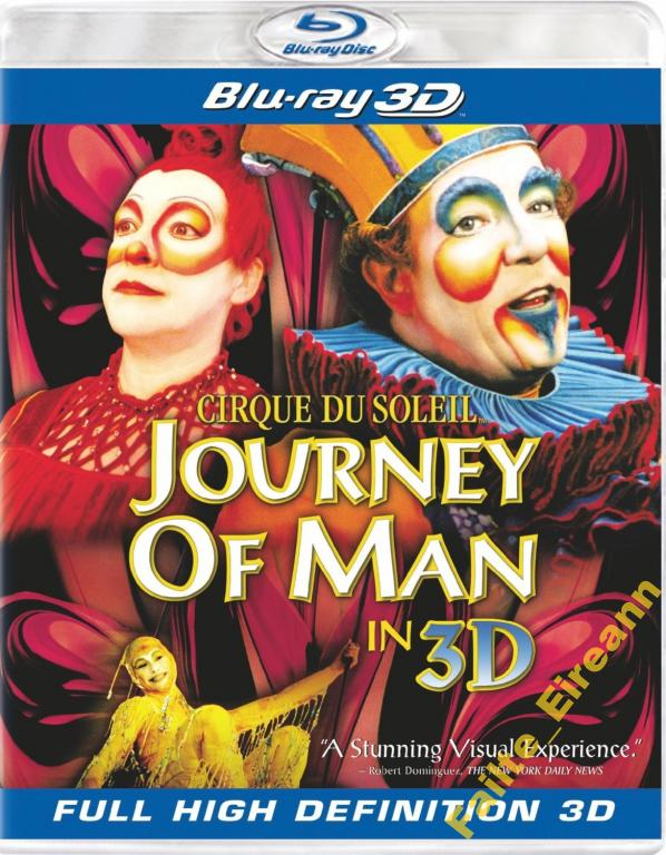 CIRQUE DU SOLEIL - JOURNEY OF MAN (BLU-RAY 3D) PL