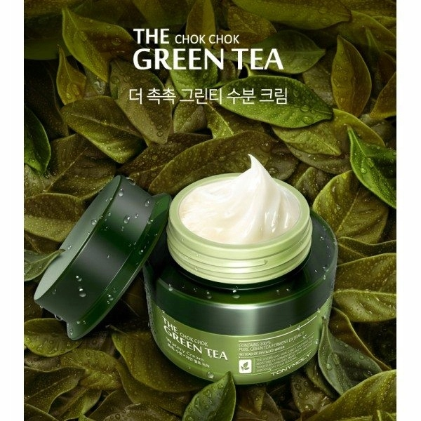 TONY MOLY THE CHOK CHOK GREEN TEA WATERY KREM 60ml