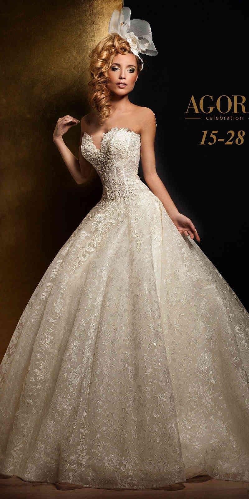 R36 Agora 15 28 Koronkowa Suknia ślubna Princeska 7250651188