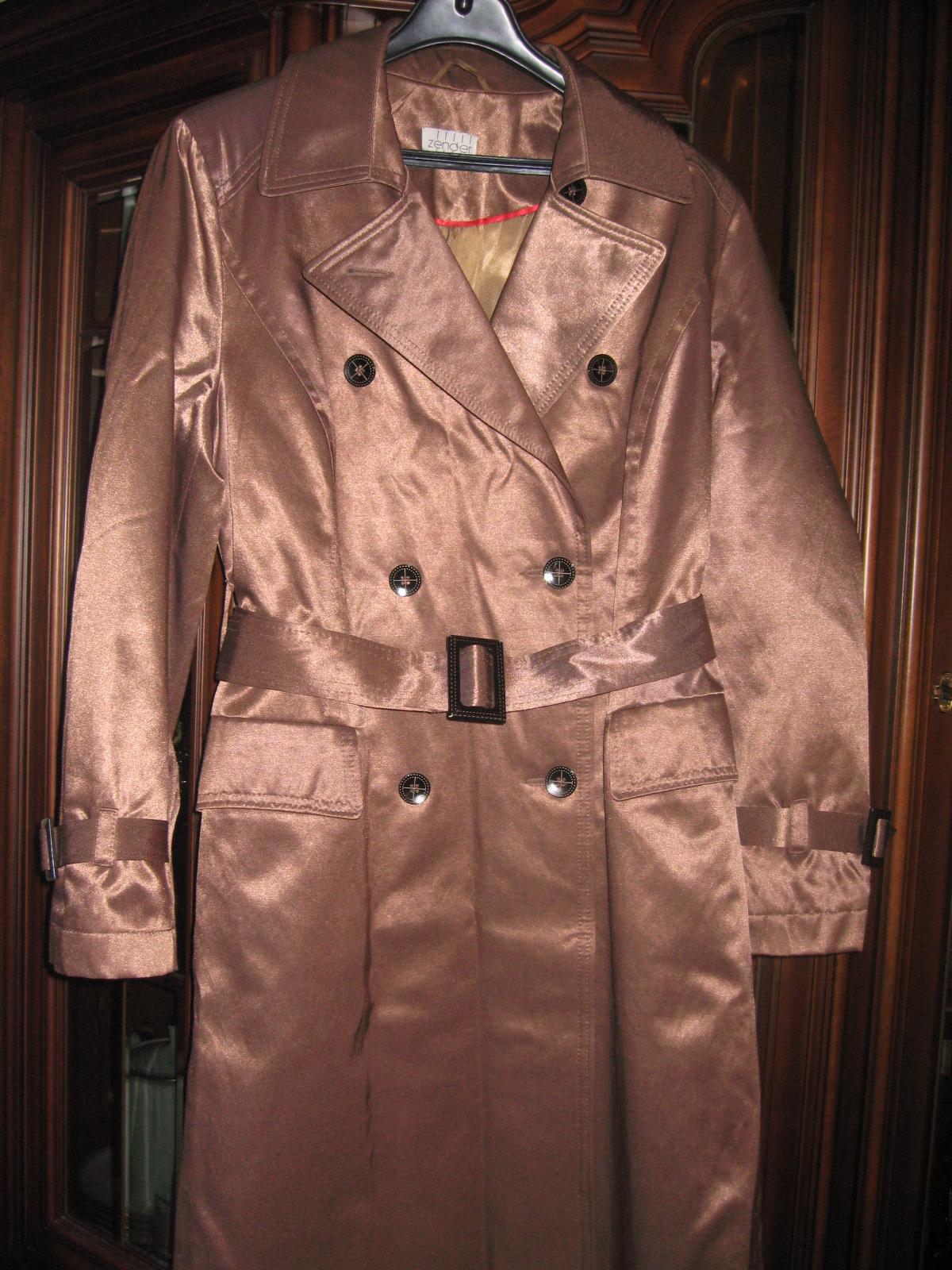 9016c179 ZENDER, elegancki płaszcz damski, roz.L, na wiosnę