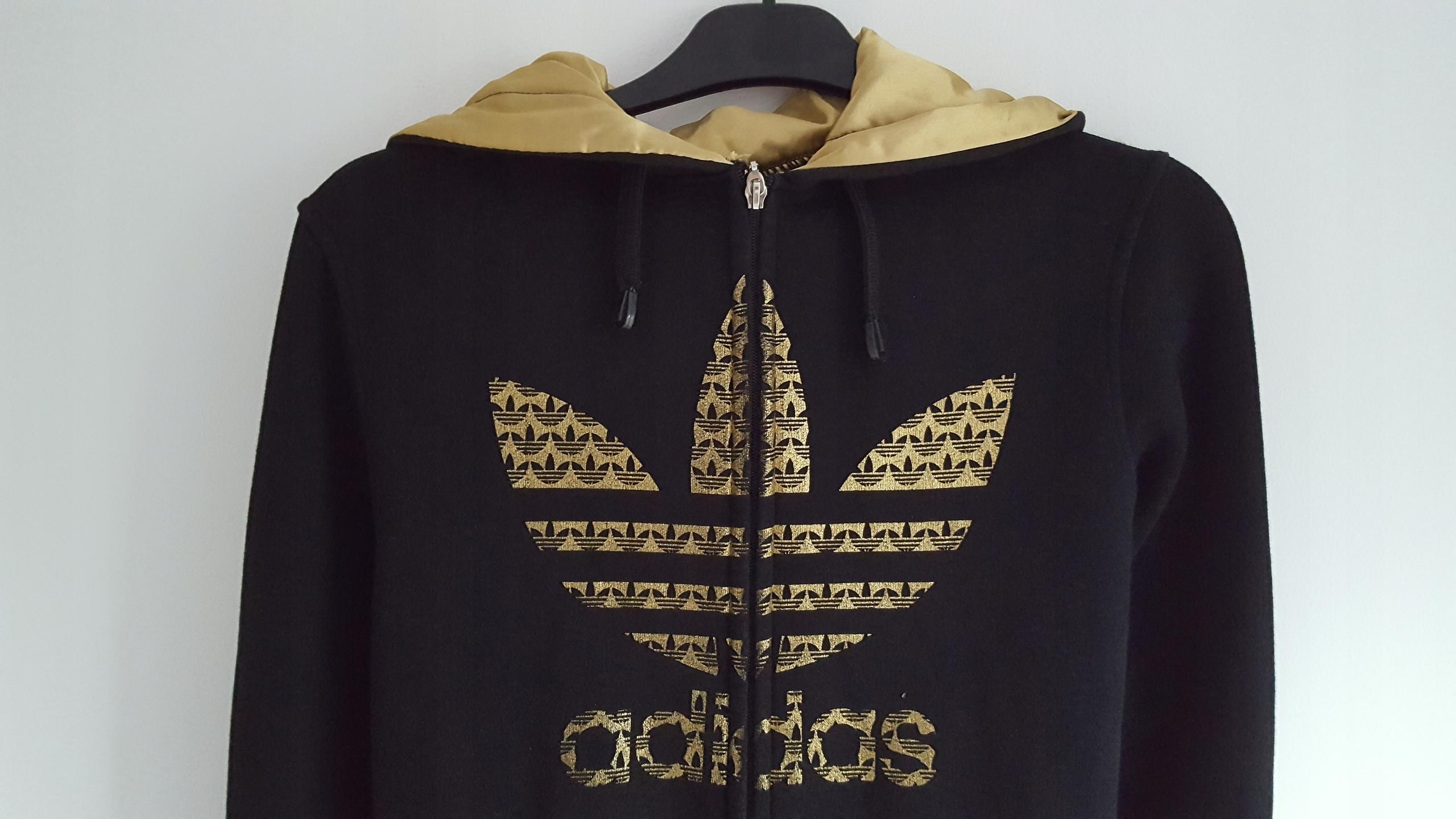 1e9fa7711 Bluza damska czarna Adidas Originals r. S/M - 7653974231 - oficjalne ...
