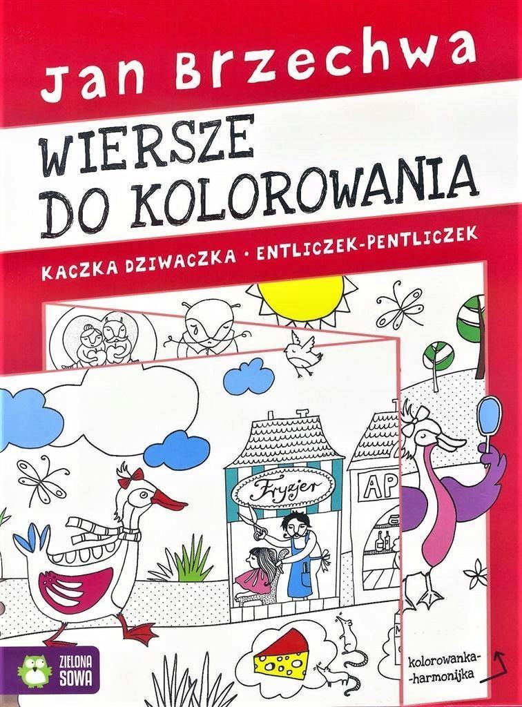 Kolorowanka Harmonijka Jan Brzechwa 7586320516