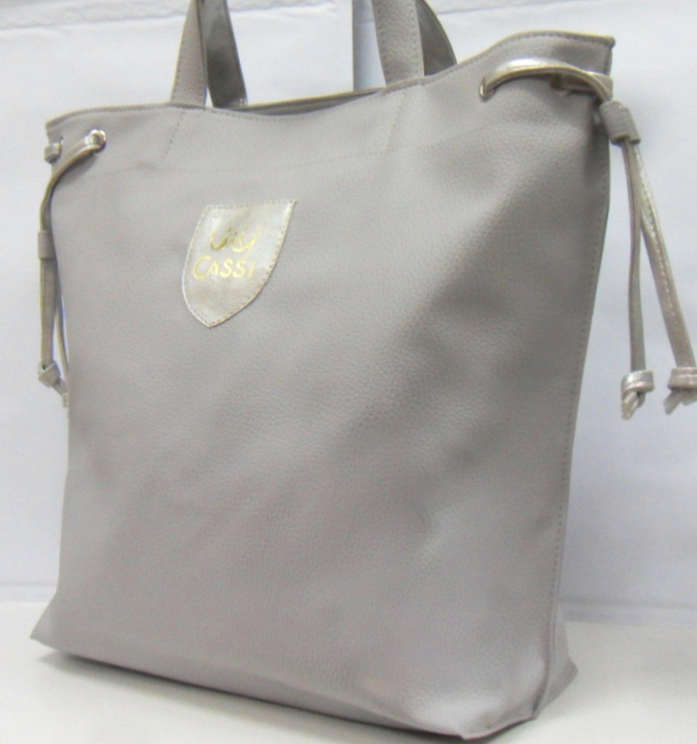 be572eaef5719 TOREBKA CASSI WOREK DUŻA A4 POPIEL shoper bag 812 - 6901821231 ...