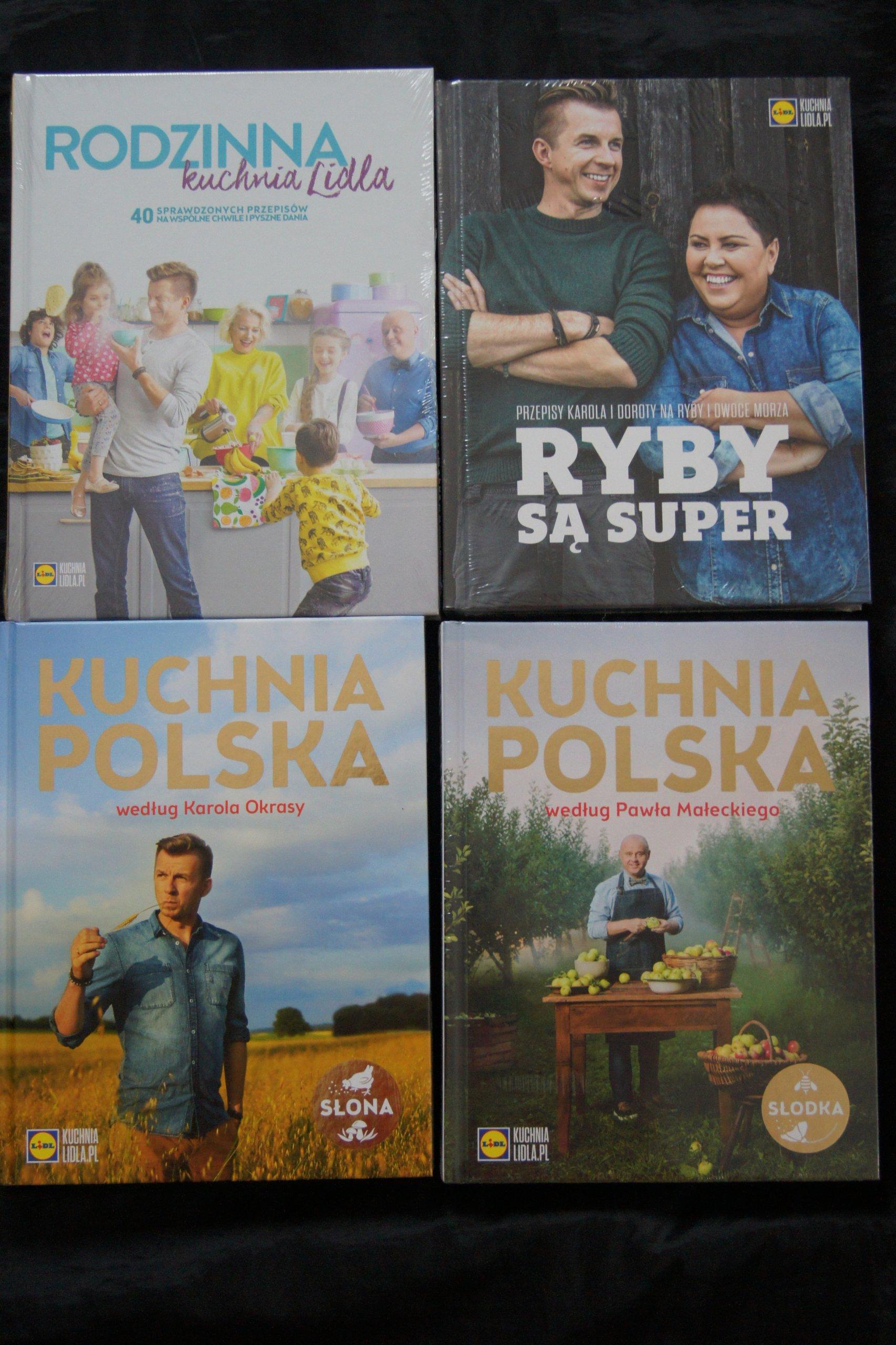 Lidl 4 Książki Nowe Kuchnia Polska Słodkasłona