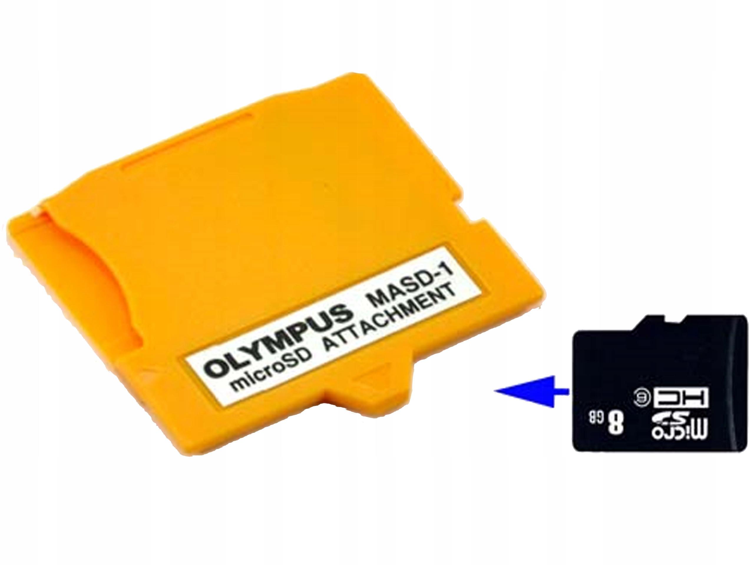 Adapter Kart Microsd Masd 1 Micro Sd Na Xd Olympus 7084113529