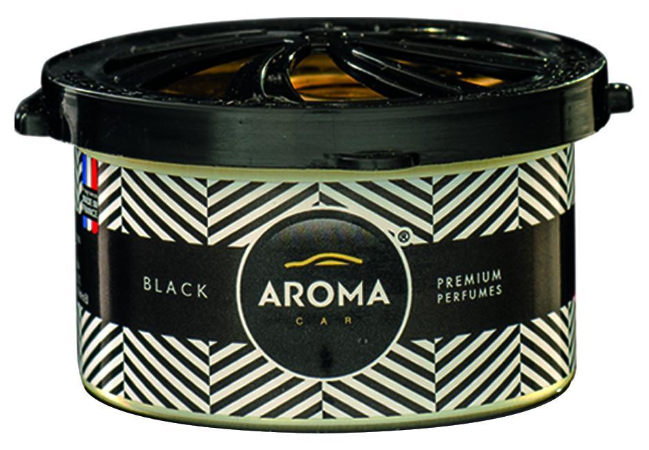 AROMA PRESTIGE ORGANIC perfum w puszce BLACK NOWY!