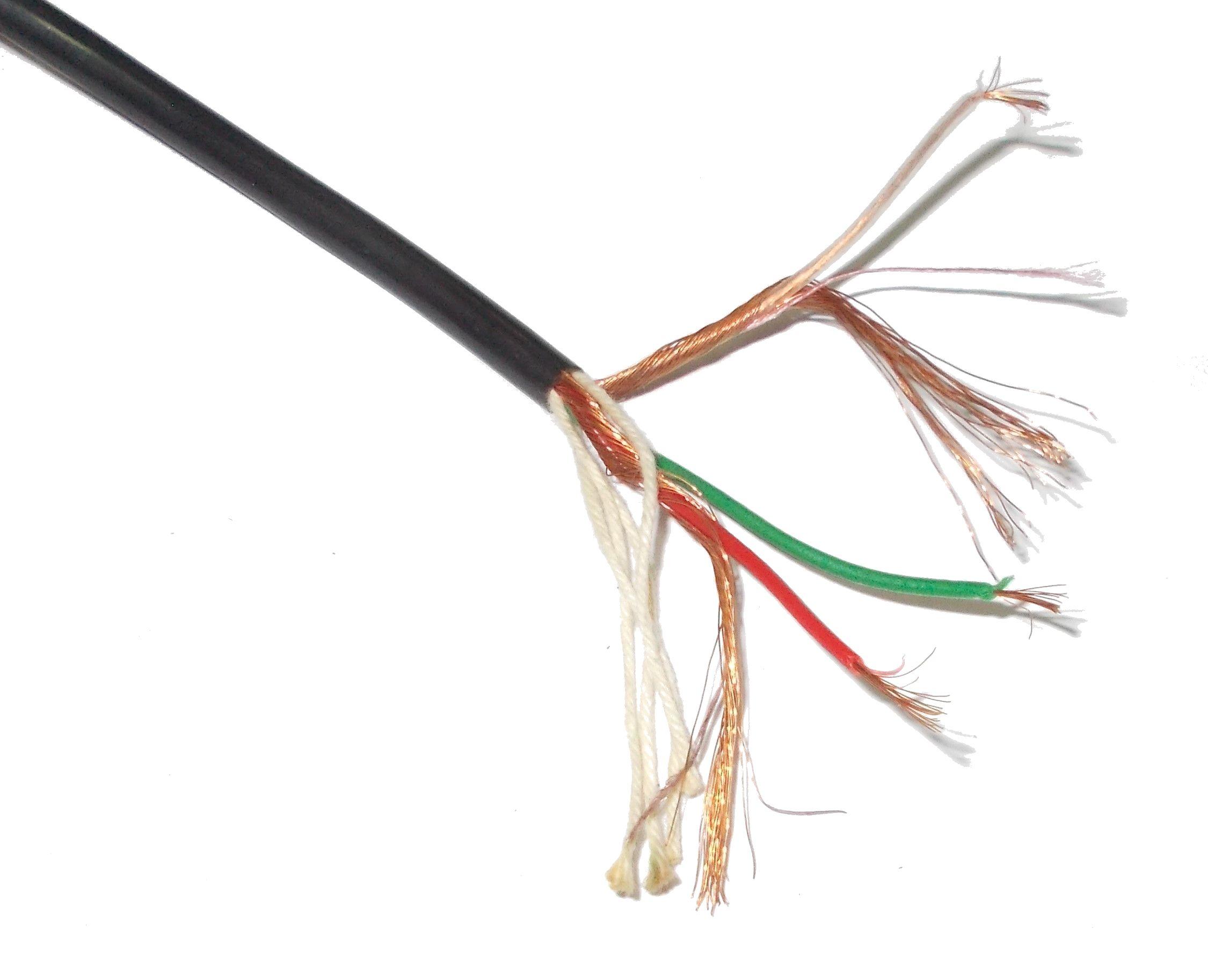 Przewód Kabel z Wojska YPMx ekr 3x0,15mm2 11,3m