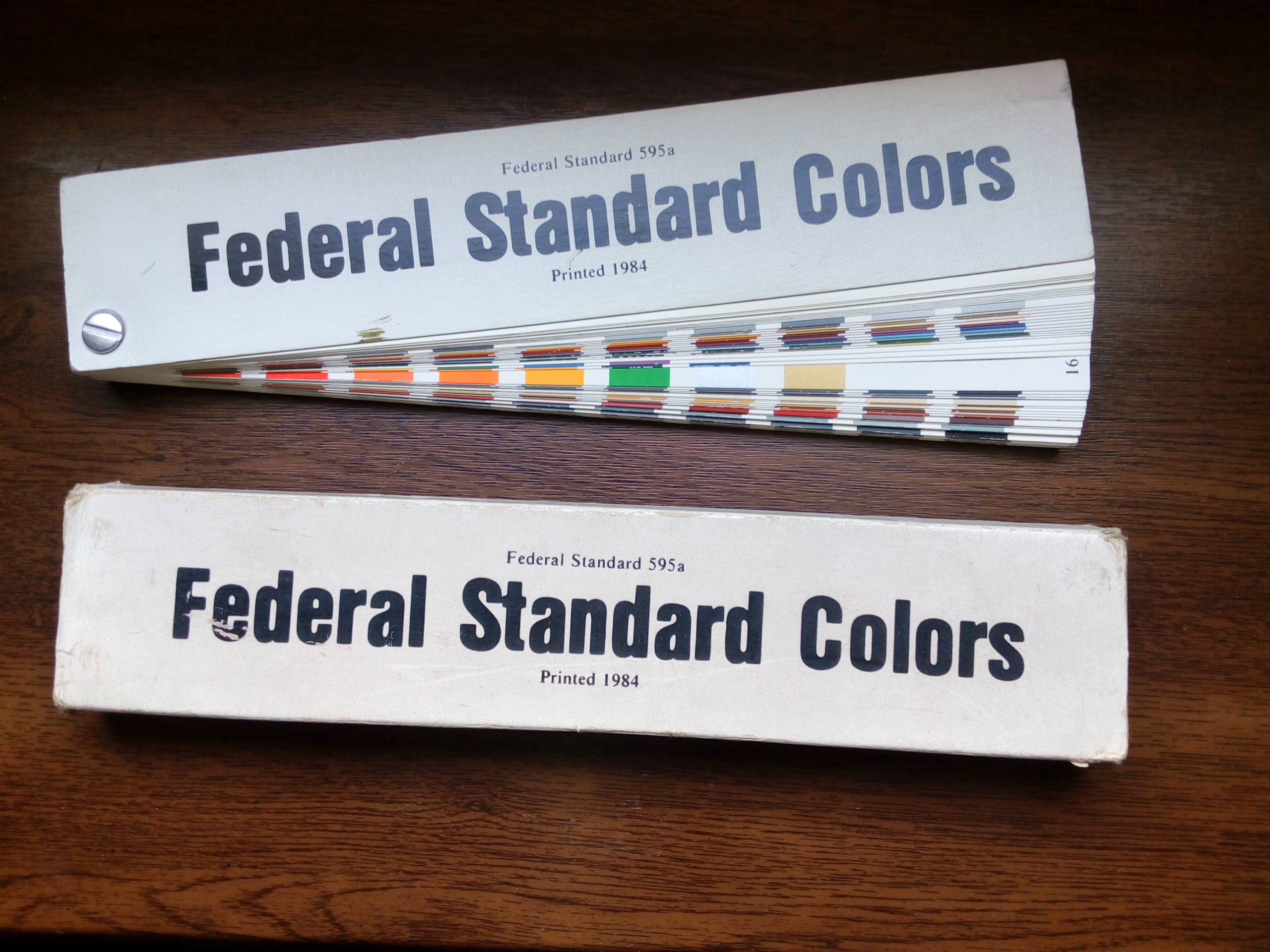 WZORNIK FEDERAL STANDARD COLOR