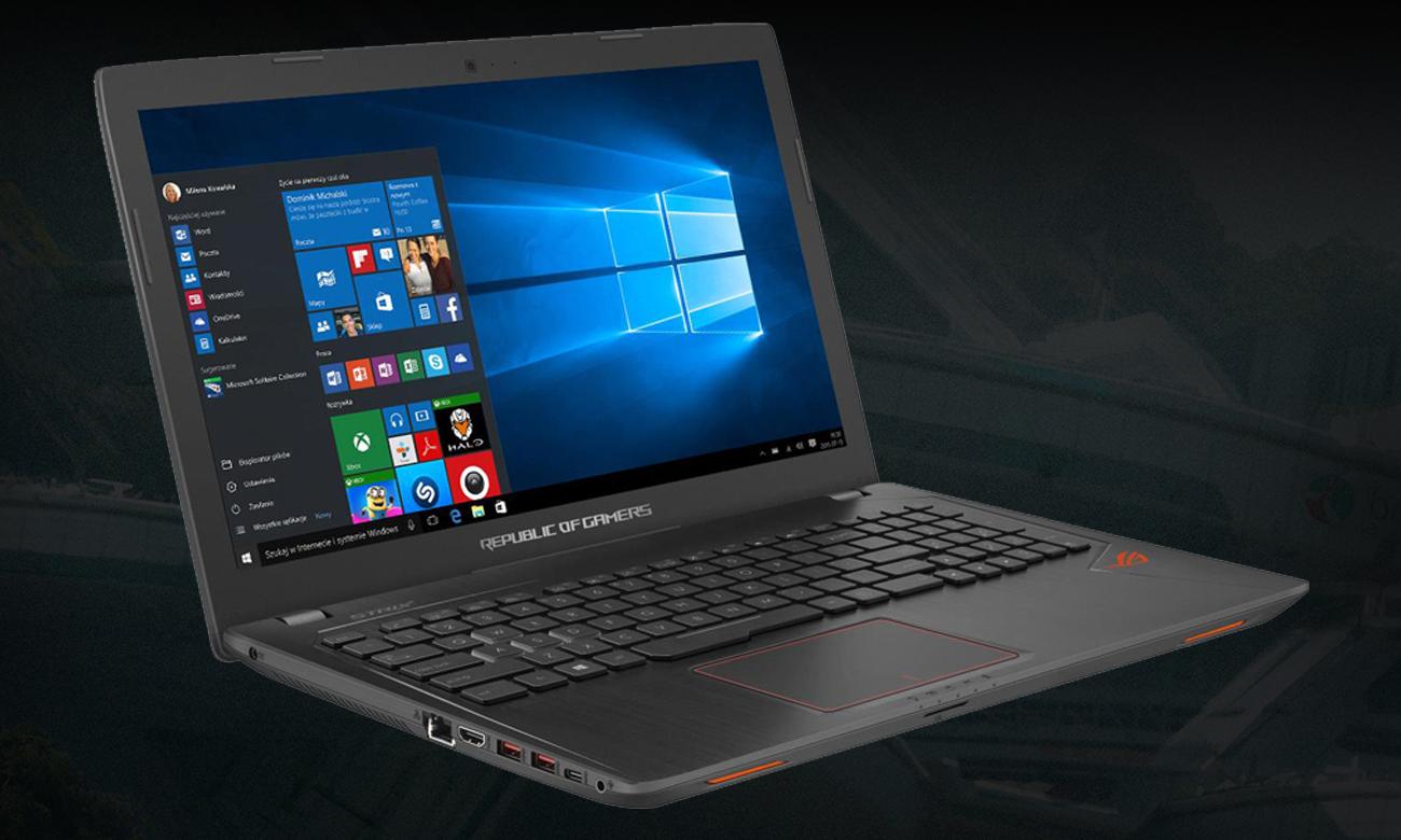 Asus Rog Strix Gl553ve Fy022t Laptop Dla Graczy 7147215406 Gl553 Ve