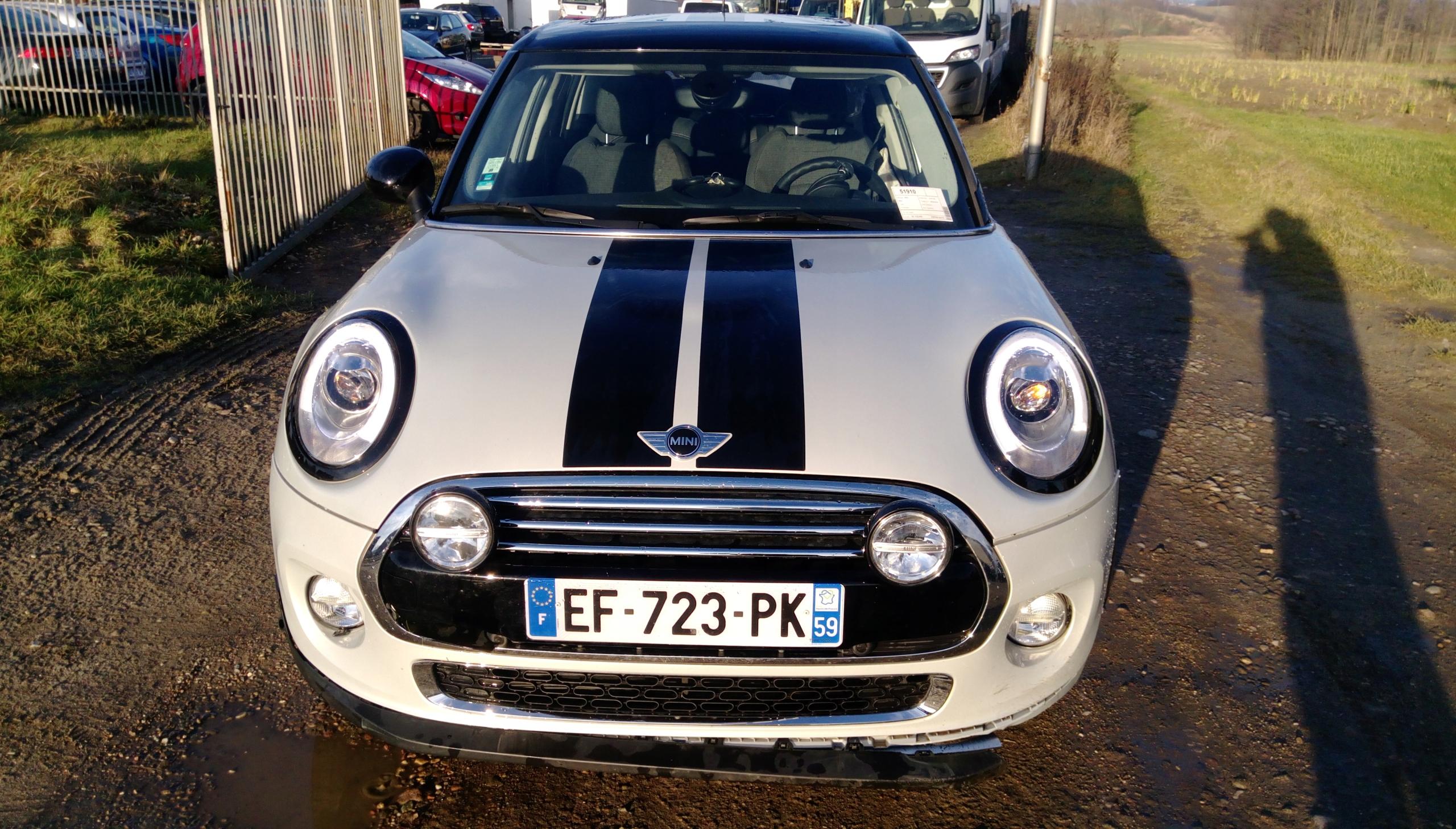 Mini Cooper D 15 Diesel Euro 6 2016 Panorama Dach 7537852527