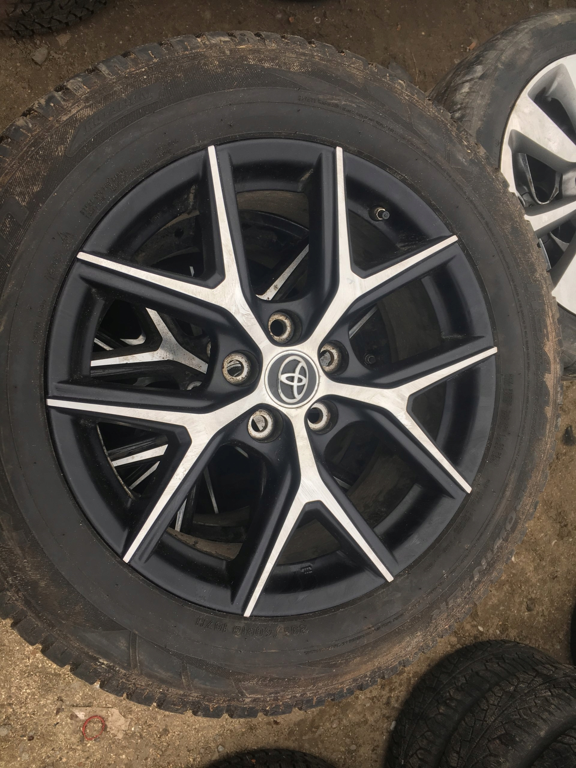 Felgi Opony Zimowe 23560 18 Toyota Rav4 2016 7296064289