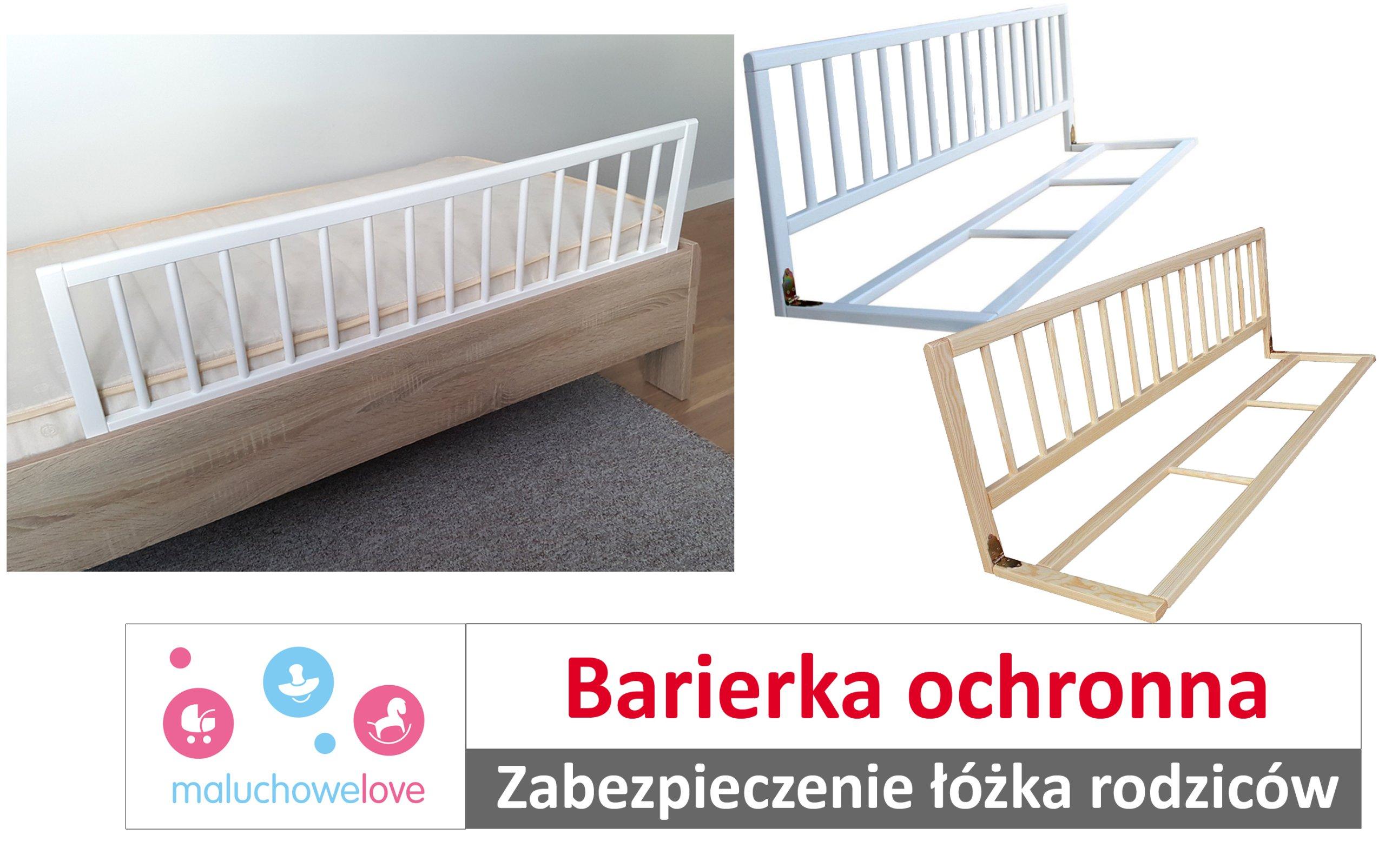 Barierka Ochronna Bramka Do łóżka Dziecka Rodziców