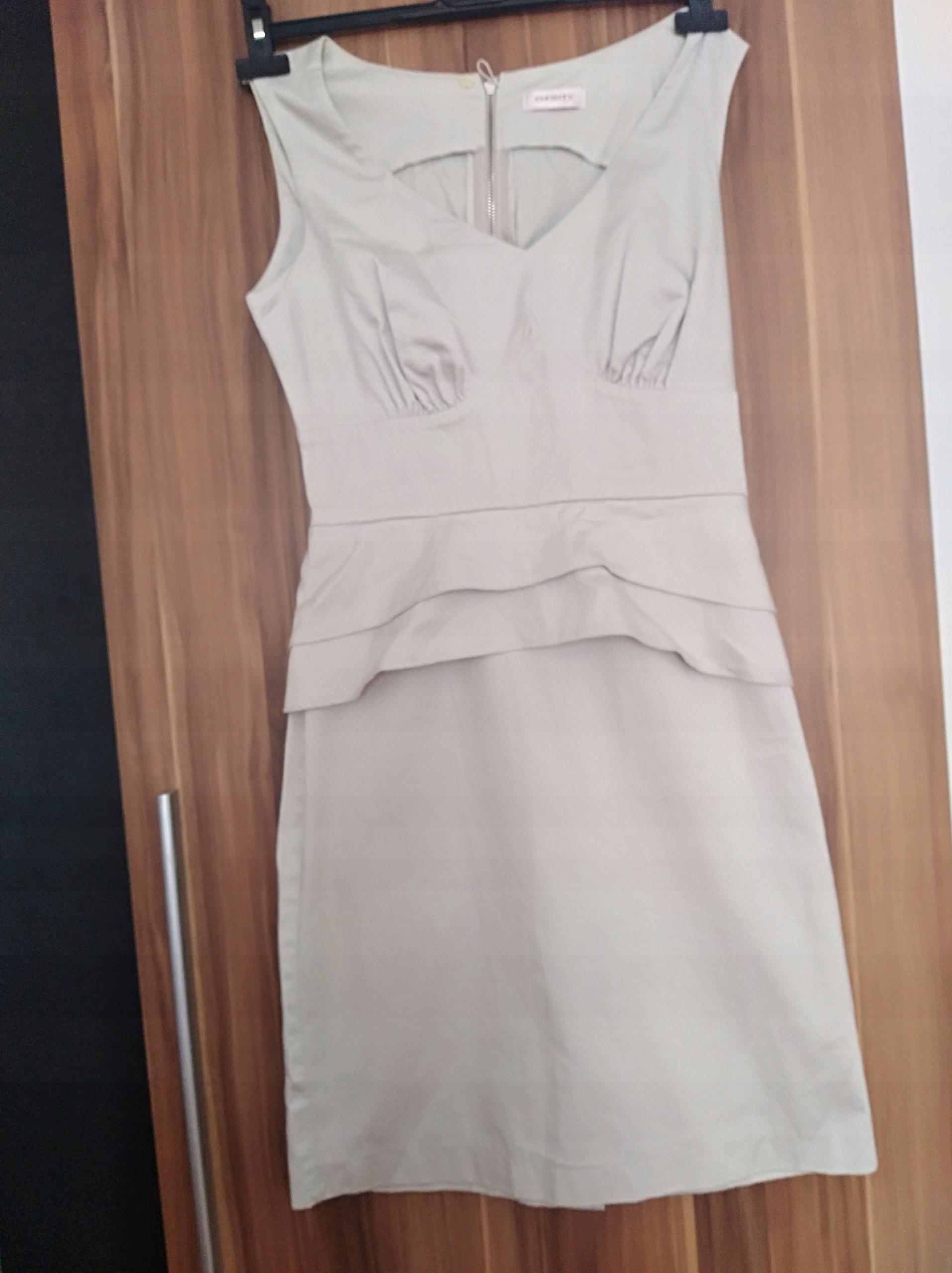 b0346a0005 Sukienka popielata ORSAY rozm. 36 - 7502815304 - oficjalne ...