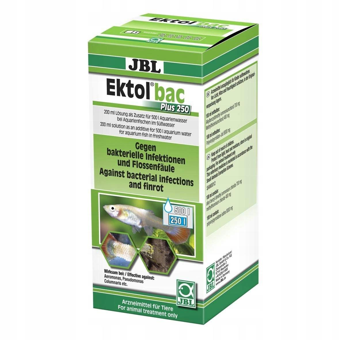 Środek przeciwbakteryjny do akwariów 200 ml JBL