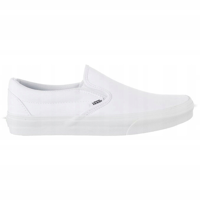 Białe Tekstylne Trampki Vans r.43 - 7524684626 - oficjalne archiwum allegro 91486ee543