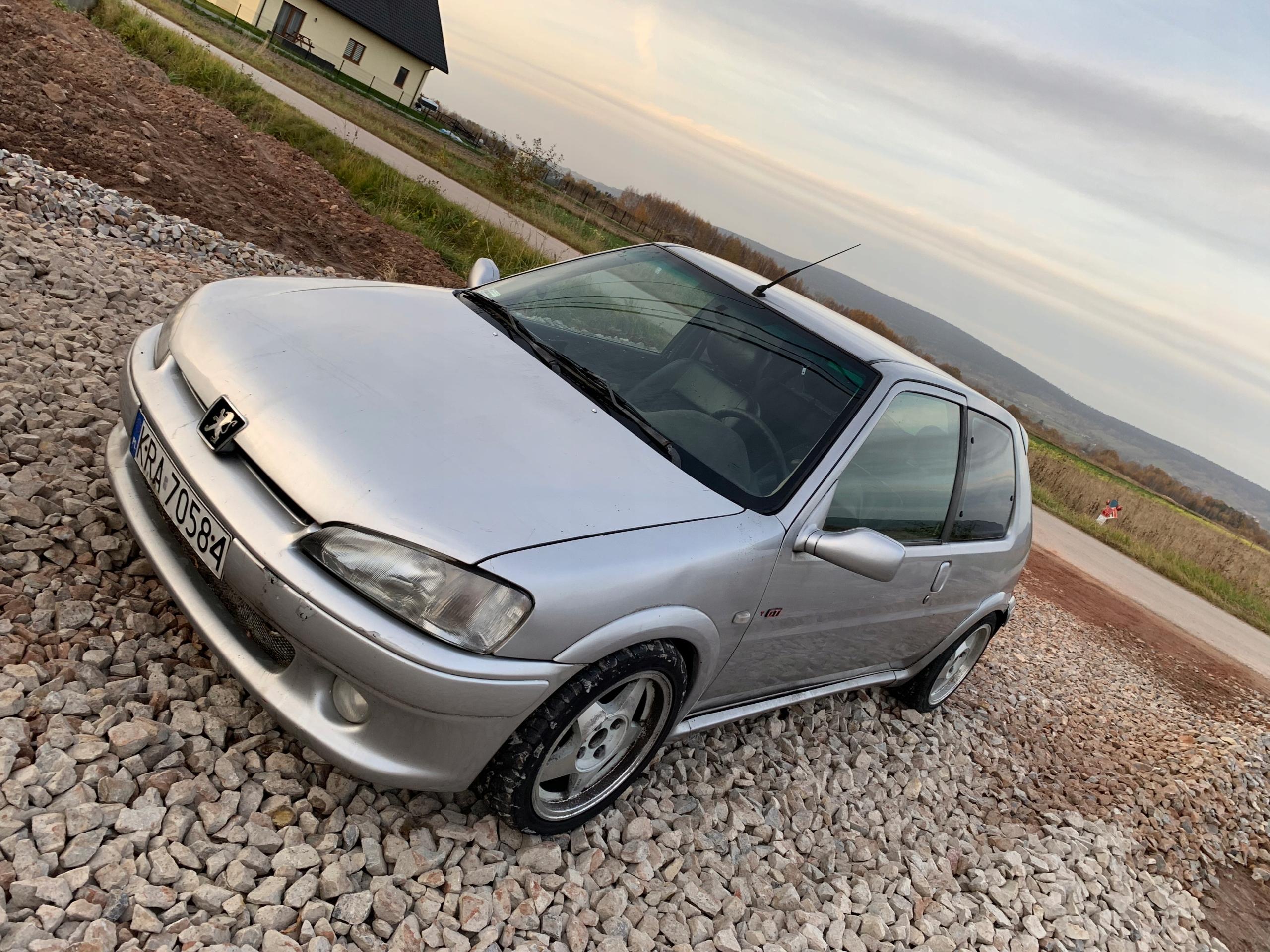 Peugeot 106 gti s16 1.6 16v nfx tu5j4s Swap kjs