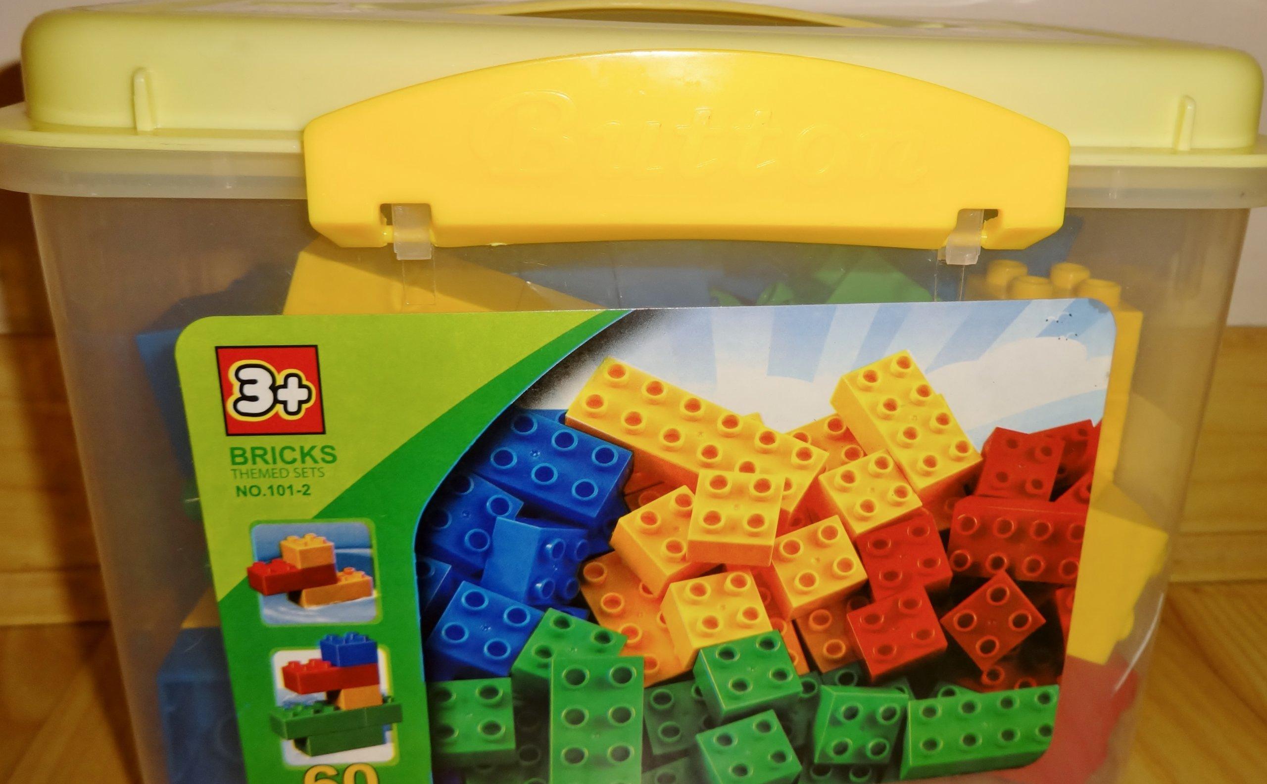 Klocki J Lego Duplo Zestaw 60 Elem Podstawowe 7085633700