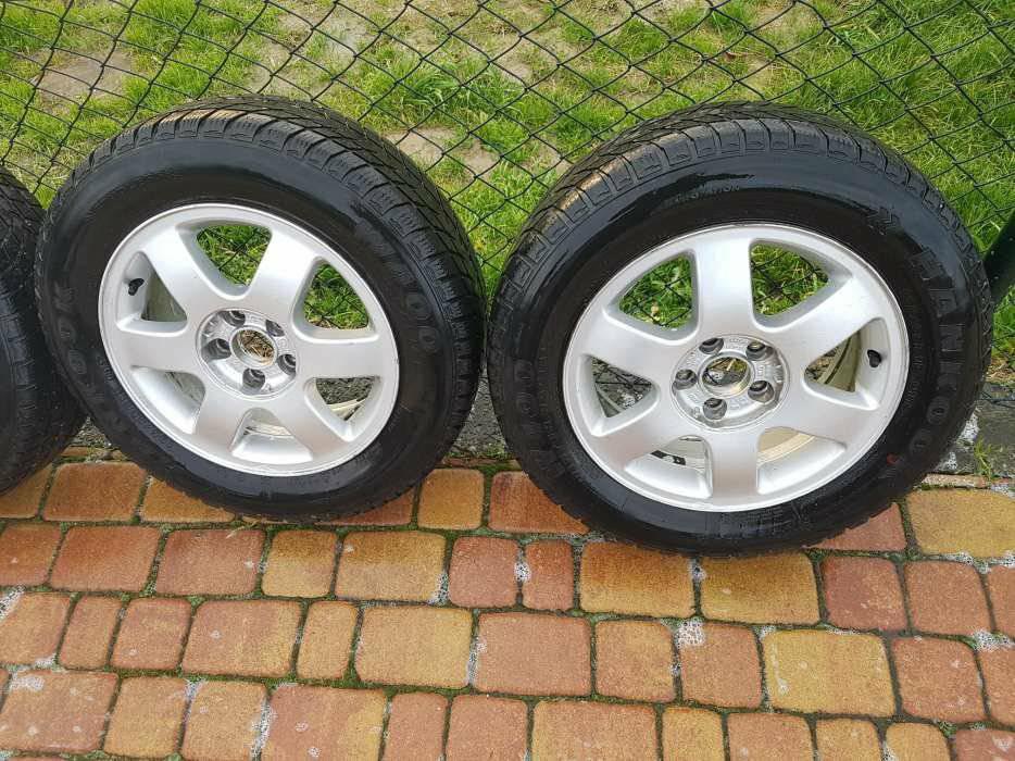 Koła Felgi Opony Zimowe 15 Audi A3 8l 7182253466 Oficjalne