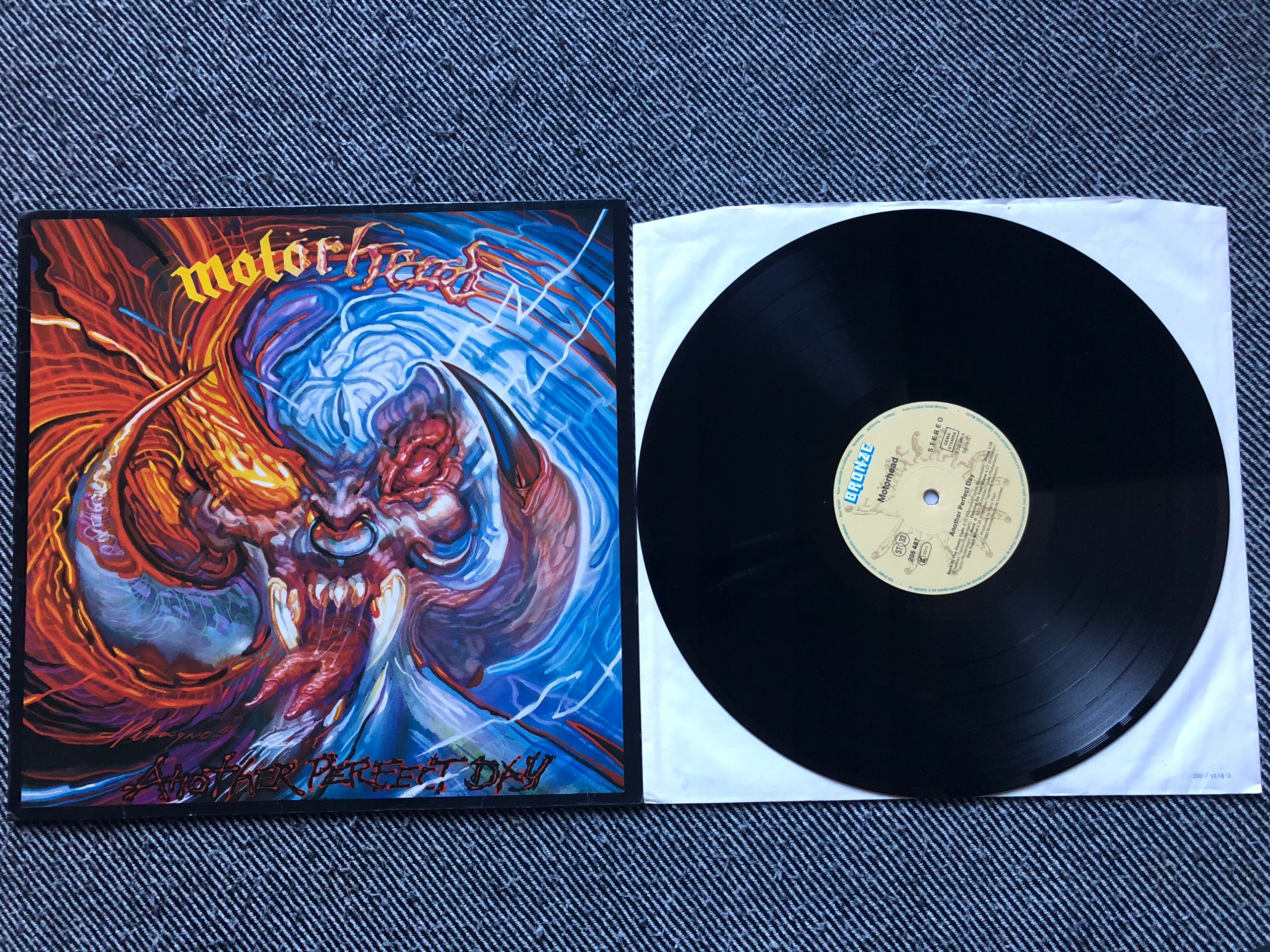 Motorhead Another perfect day LP Lemmy Kilmister