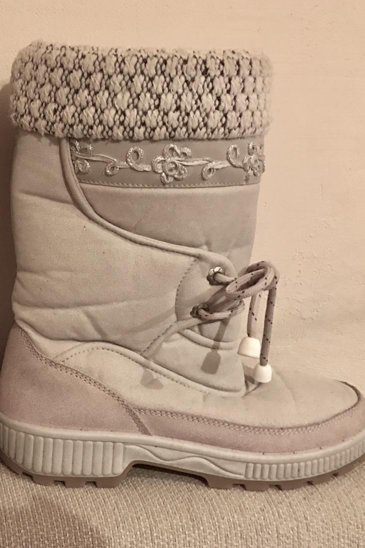80753fcde7720 -% Kozaki buty zimowe śniegowce Lady 40 26 cm - 7180673319 ...
