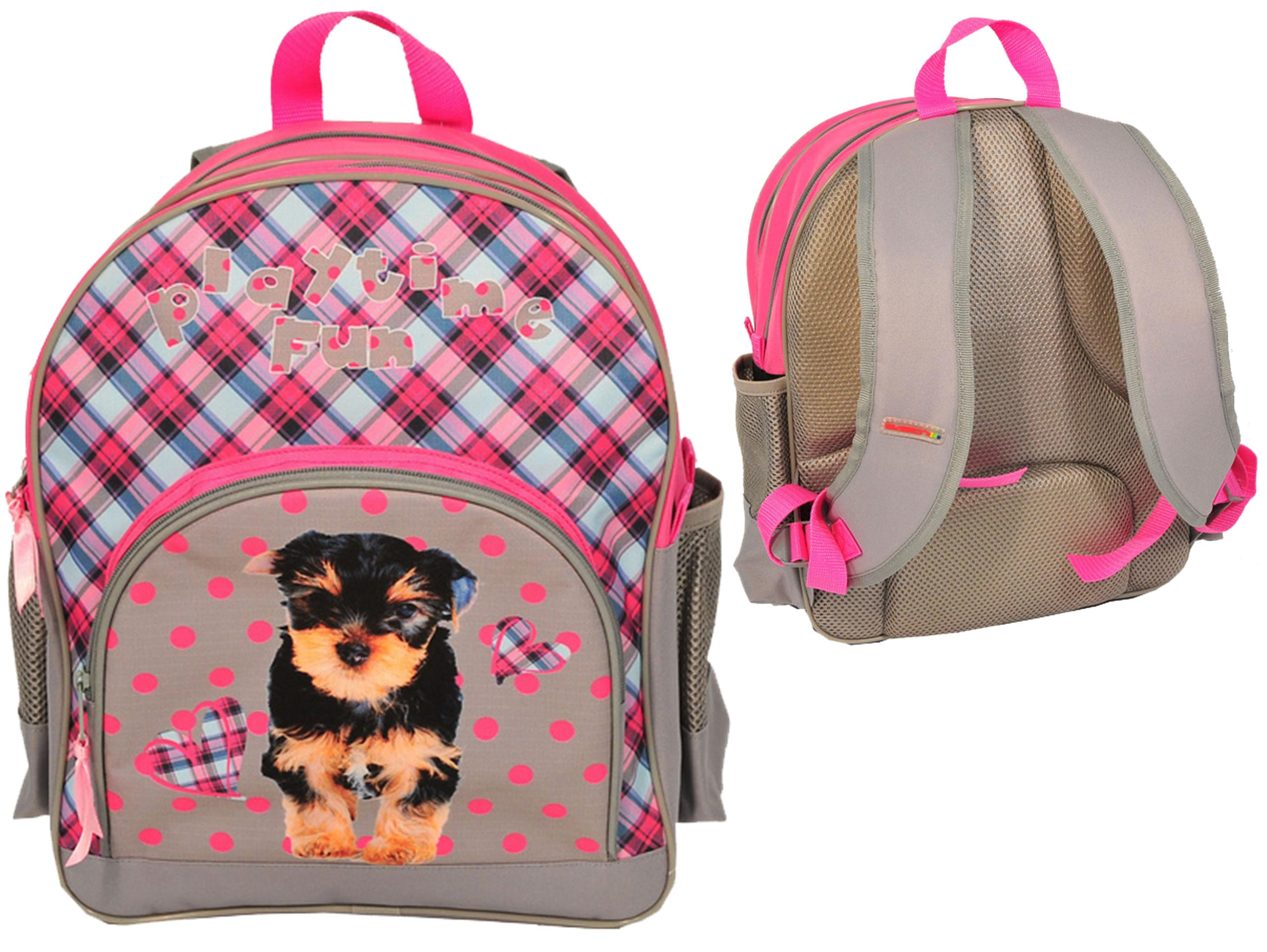 600e54f6e8b6 Plecak Szkolny z Pieskiem Pies York Dla Dziewczyny - 6667350197 ...