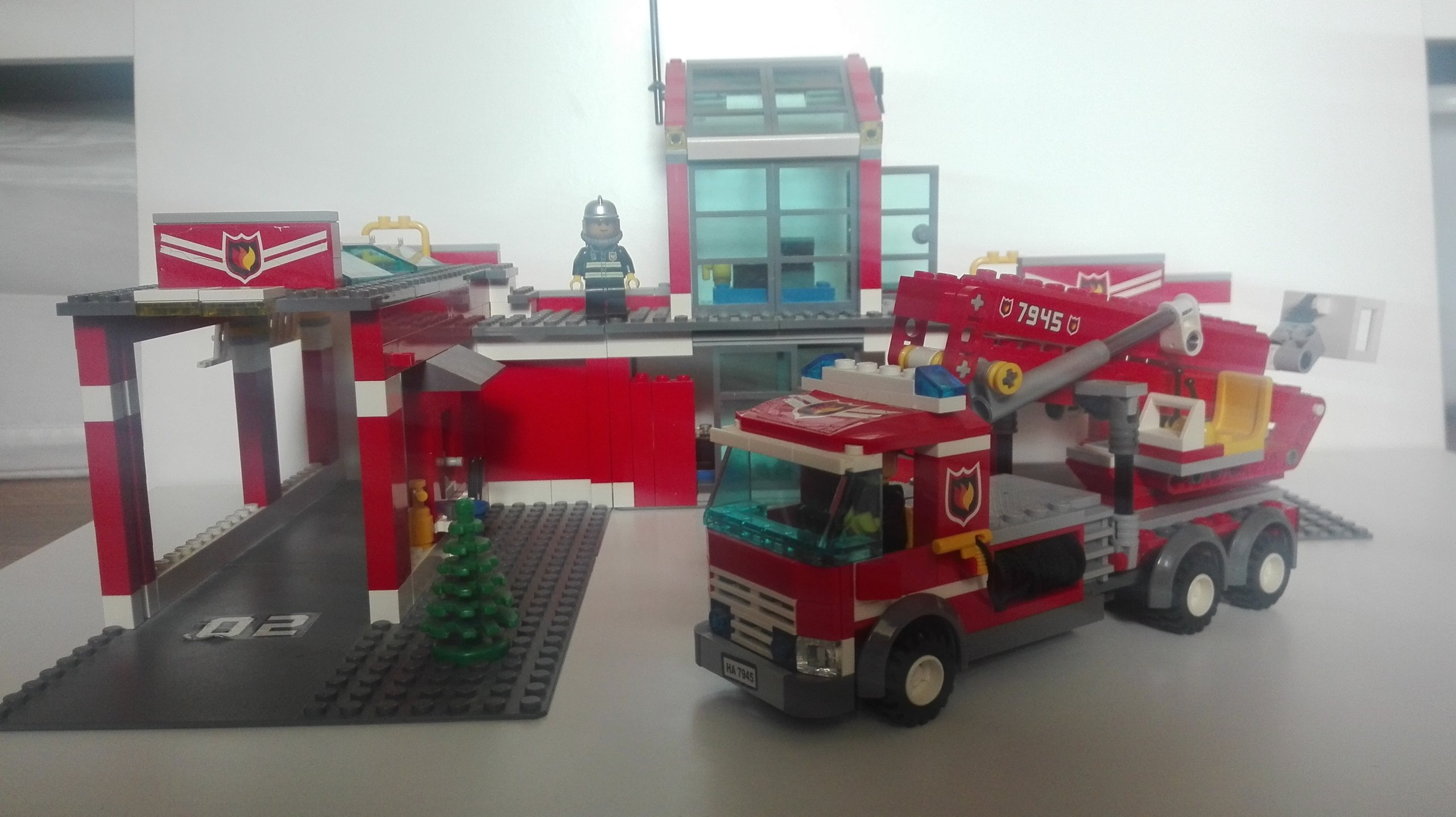 Klocki Lego City 7945 Remiza Straż Pożarna 7468097821