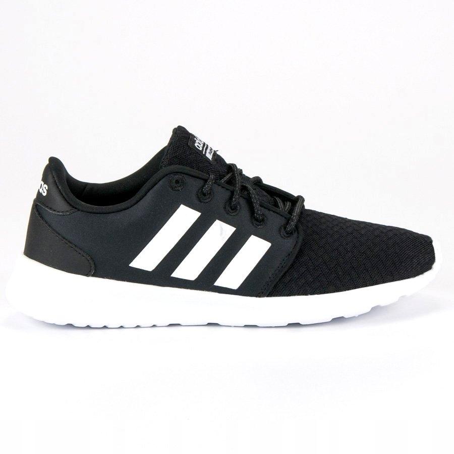 Adidas Sportowe Damskie Czarne Tekstylne r.38,5 7674918179