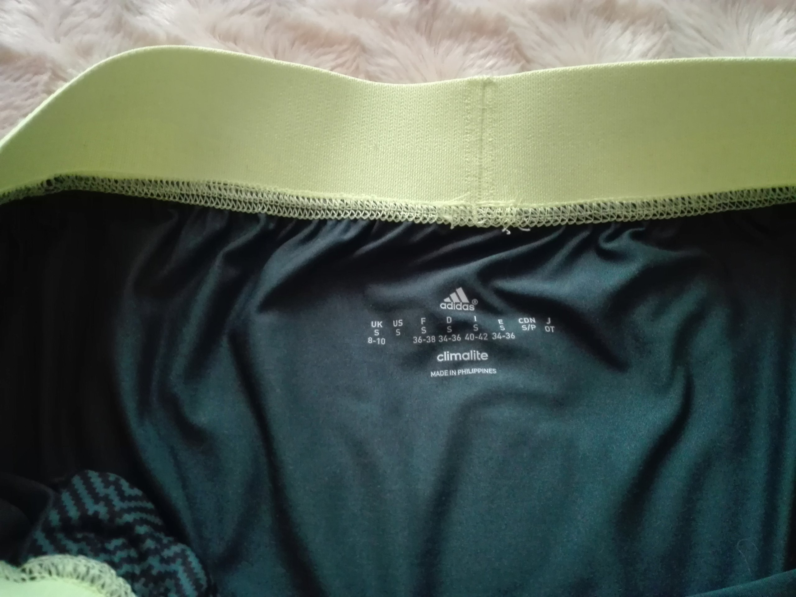 Spodnie treningowe legginsy ADIDAS Climalite 3638