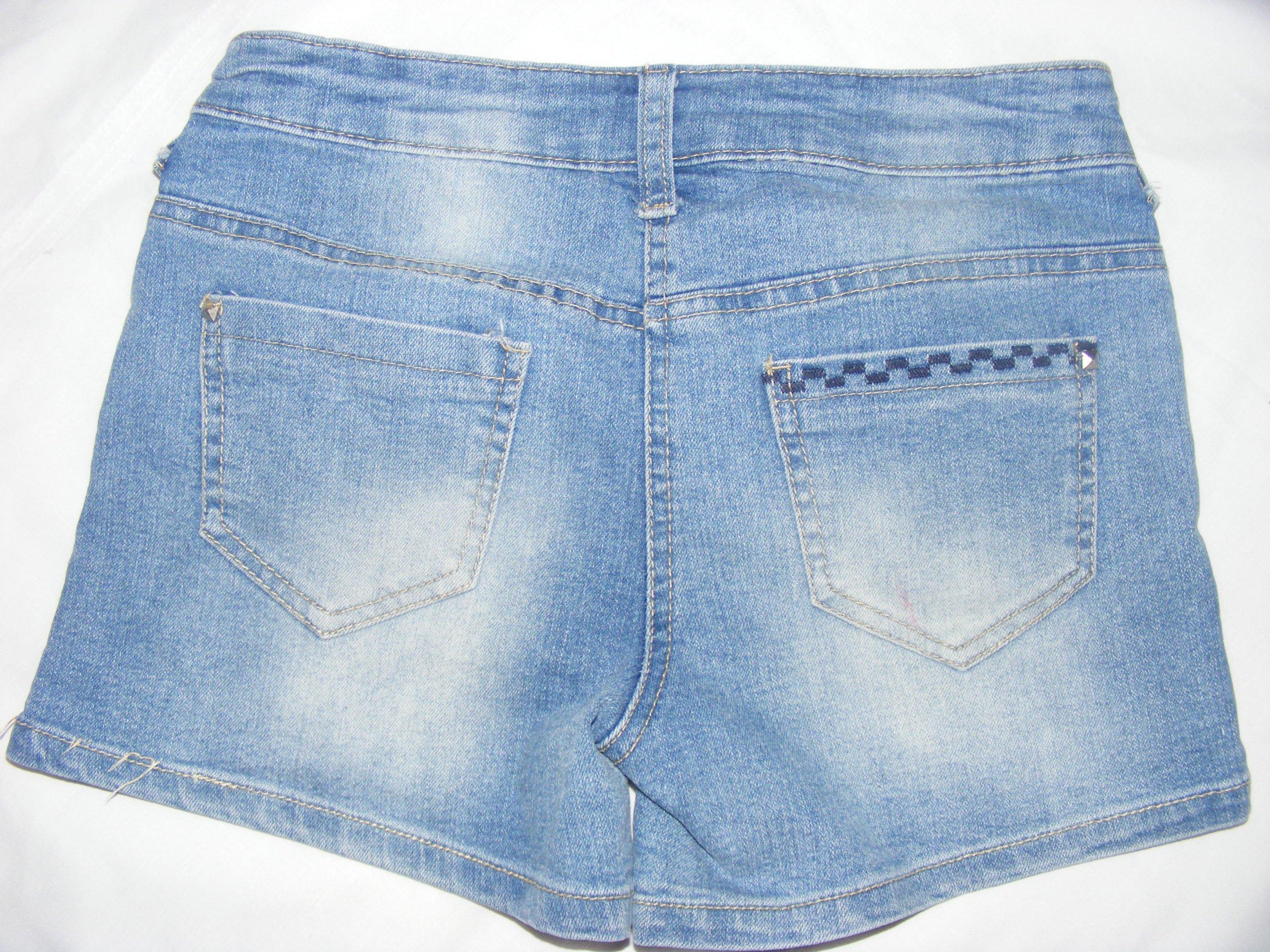 112ffaaa5 Spodenki jeansowe dla dziewczynki 9-10 lat 134 - 7284322800 ...