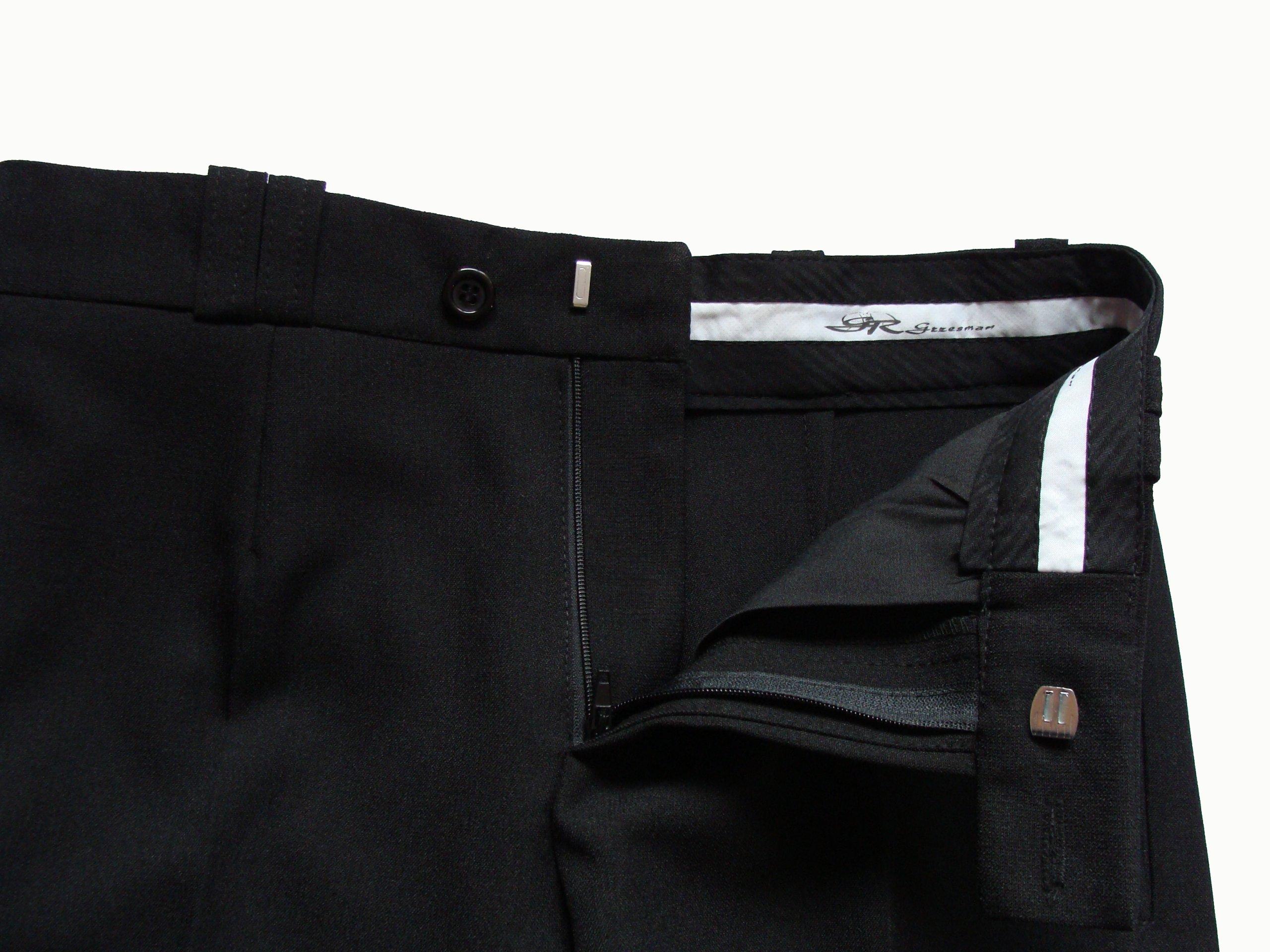 60266bfa22a36 Spodnie młodzieżowe garniturowe wizytowe 170 cm - 7174050124 - oficjalne  archiwum allegro