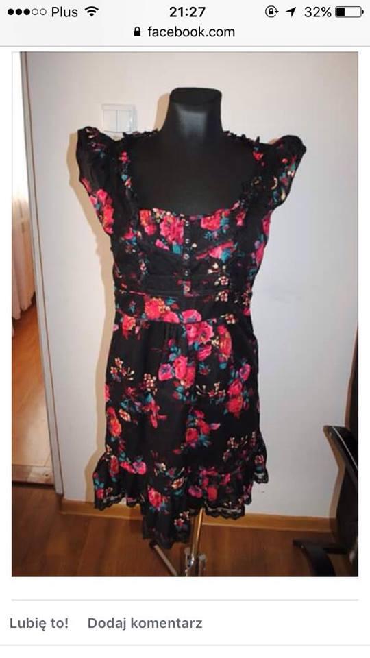 f8c396a95b Sukienka Oasis kwiaty sliczna r.40 UK12 - 7500667590 - oficjalne ...