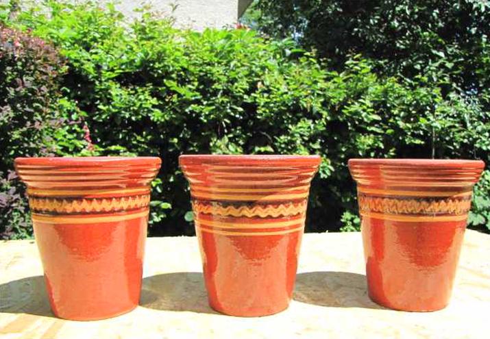Doniczka Ceramiczna 20 X 205 Cm Osłonka Gliniana
