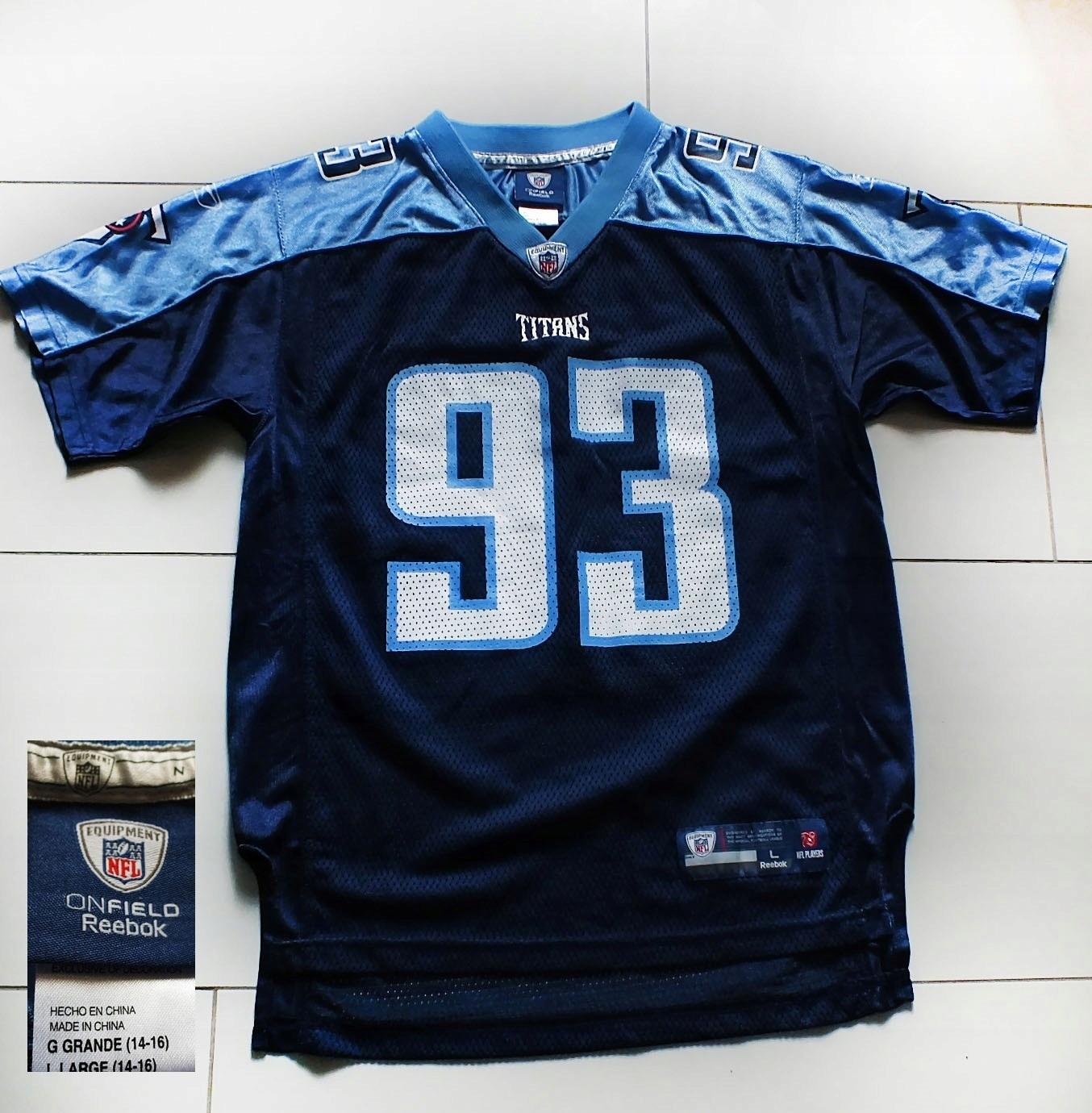 buty jesienne słodkie tanie kod promocyjny NFL REEBOK świetna sportowa koszulka r.14/16L