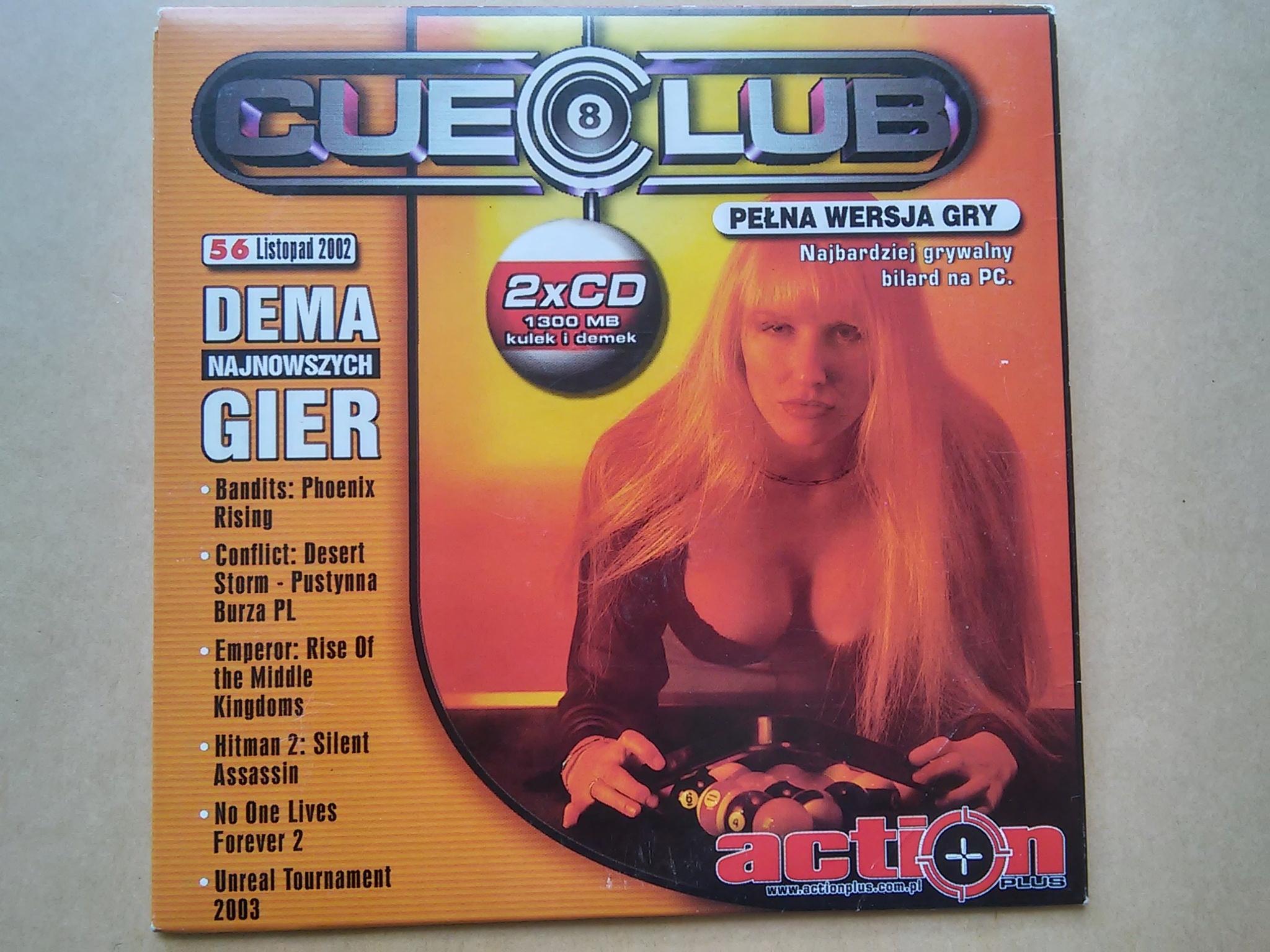 Cue Club Action Plus listopad 2002