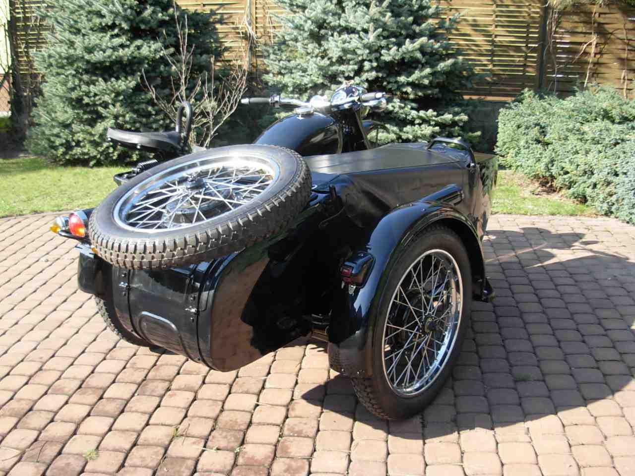 Motocykl Bmw R71 Chang Jiang Z Bocznym Wózkiem 7255469763