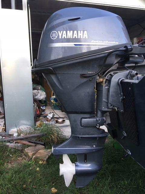 Silnik zaburtowy Yamaha F20 2015r - 7502570146 - oficjalne