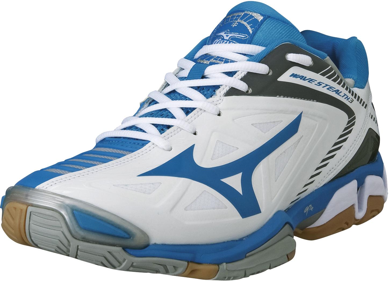 Mizuno buty halowe Wave Stealth 3 W WhiteSilverD