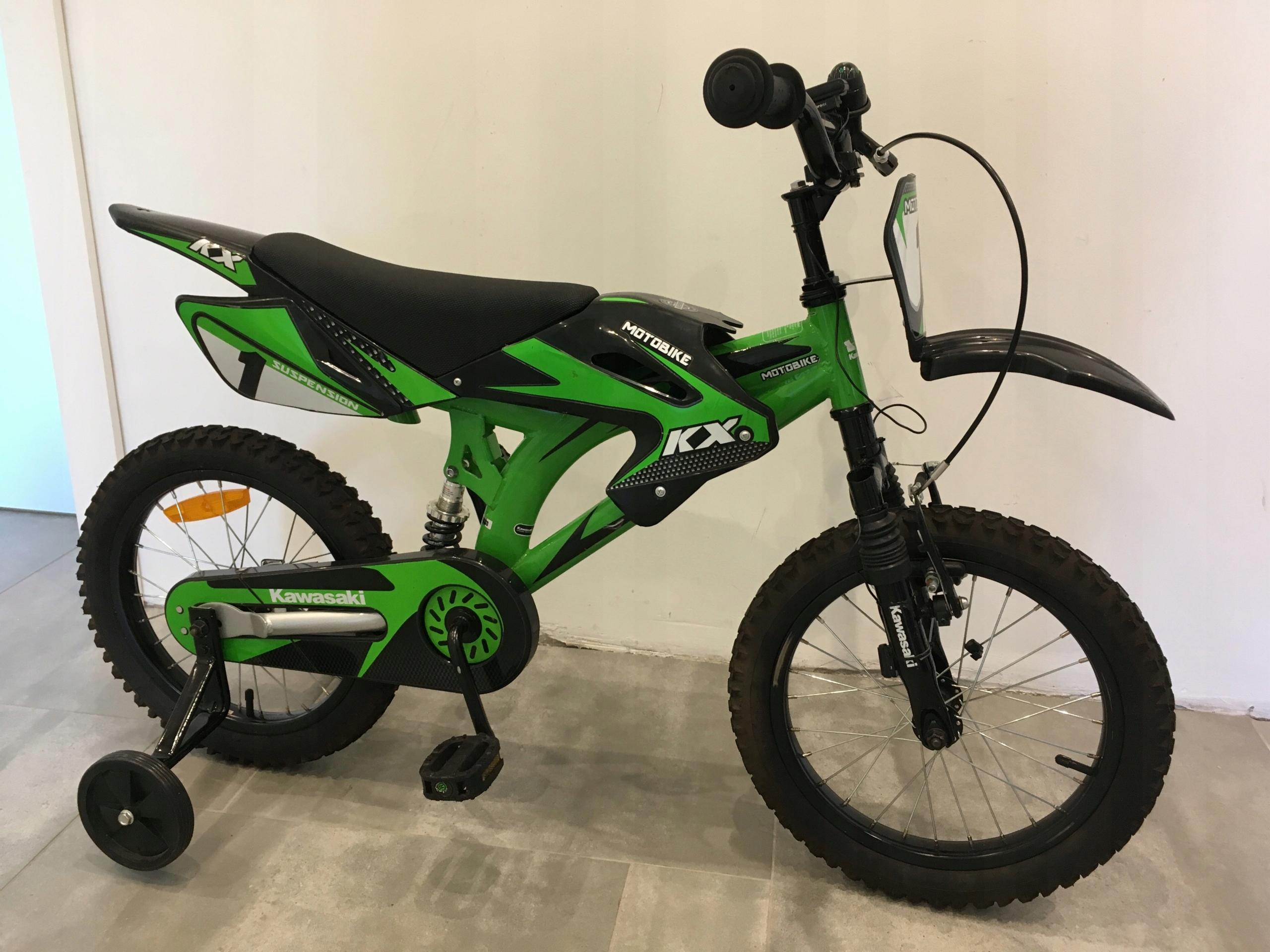 """Dziecięcy rower KAWASAKI Moto 16"""""""