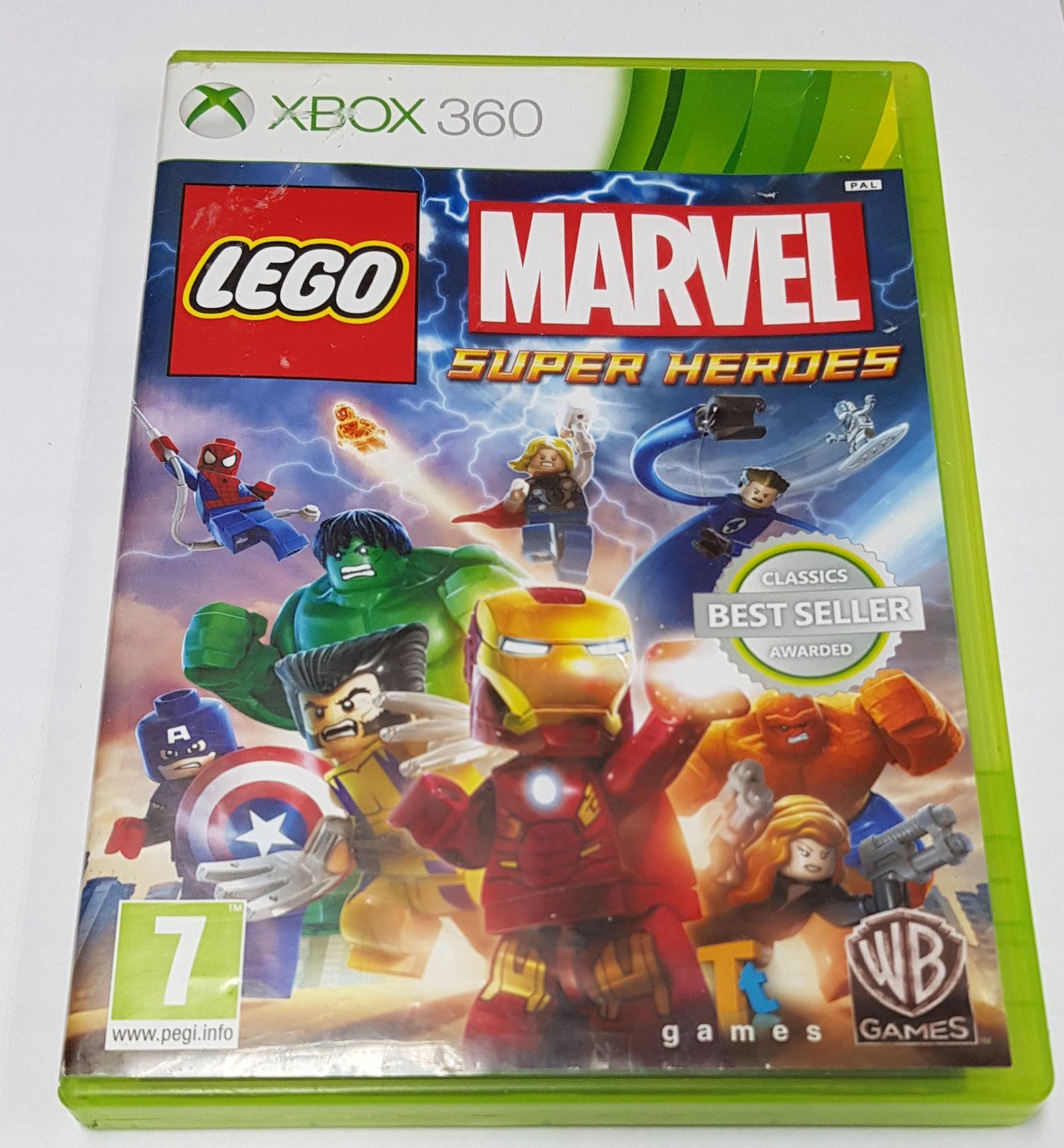 2bffd04d5 XBOX 360 LEGO Marvel Super Heroes PL Sklep KOŁO - 7672817162 ...