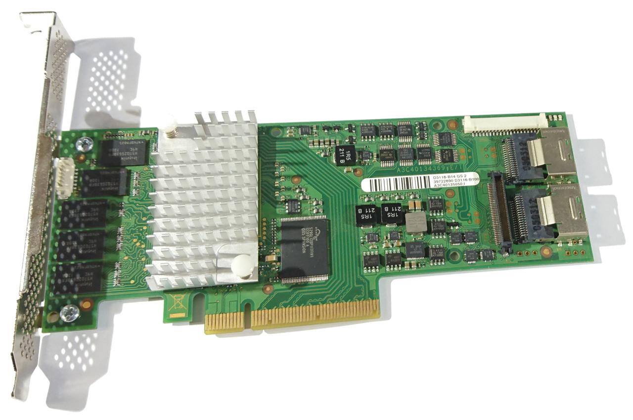 RAID SAS 6 Gbit/s 1 GB Fujitsu D3116 LSI MR 2208