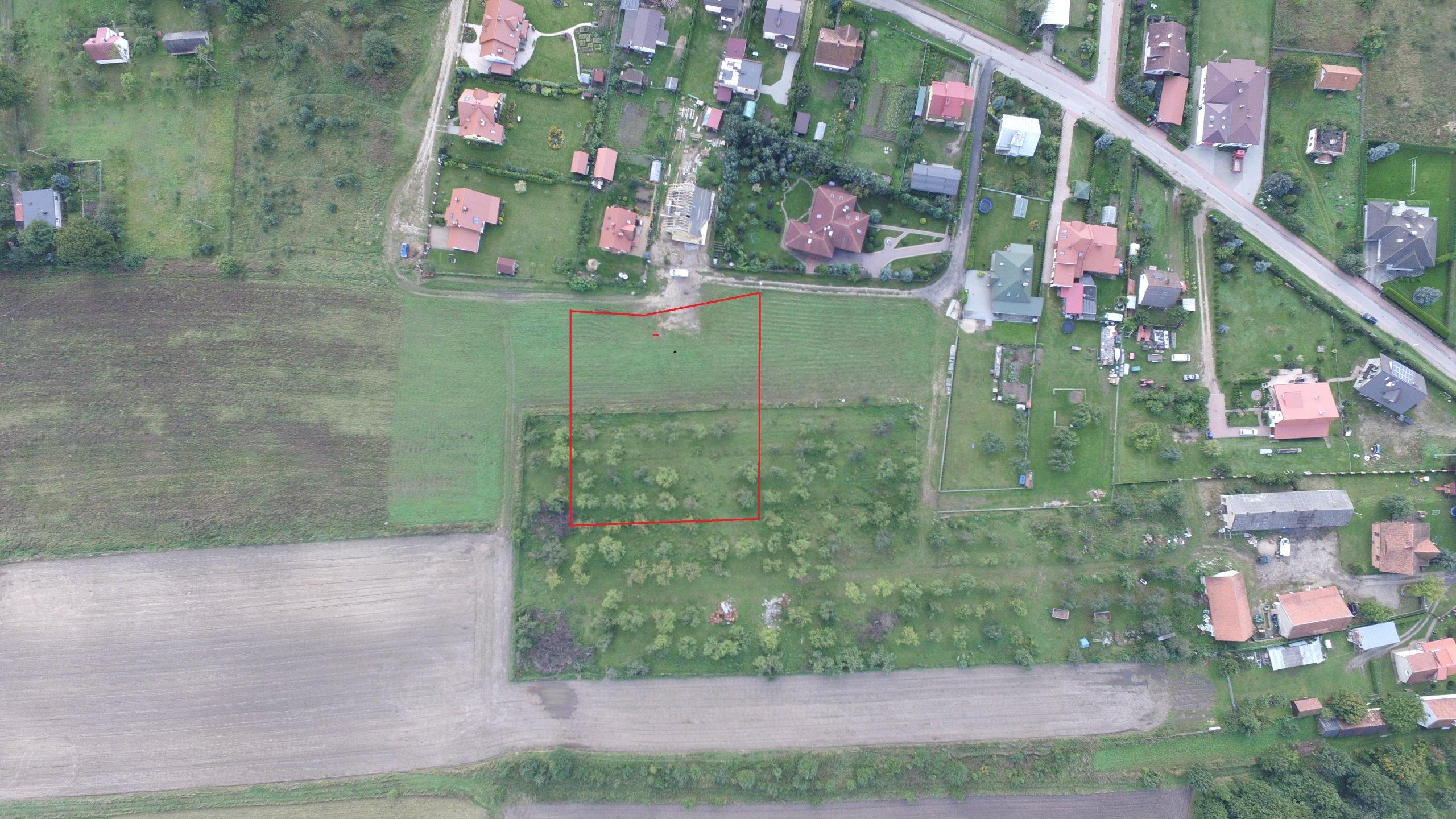 Działka rolno-budowlana Gryźliny ul. Borówkowa